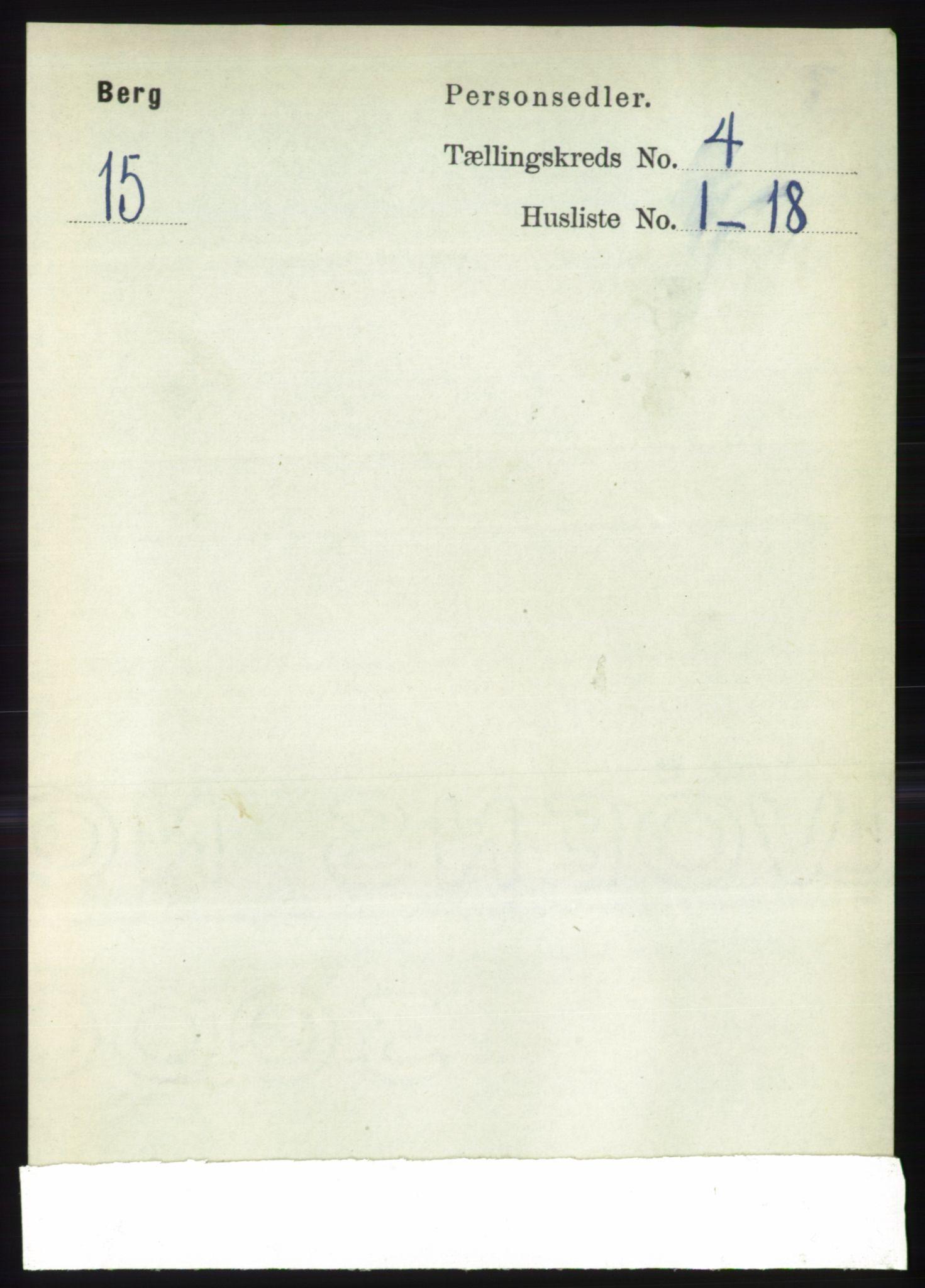 RA, Folketelling 1891 for 1929 Berg herred, 1891, s. 1641