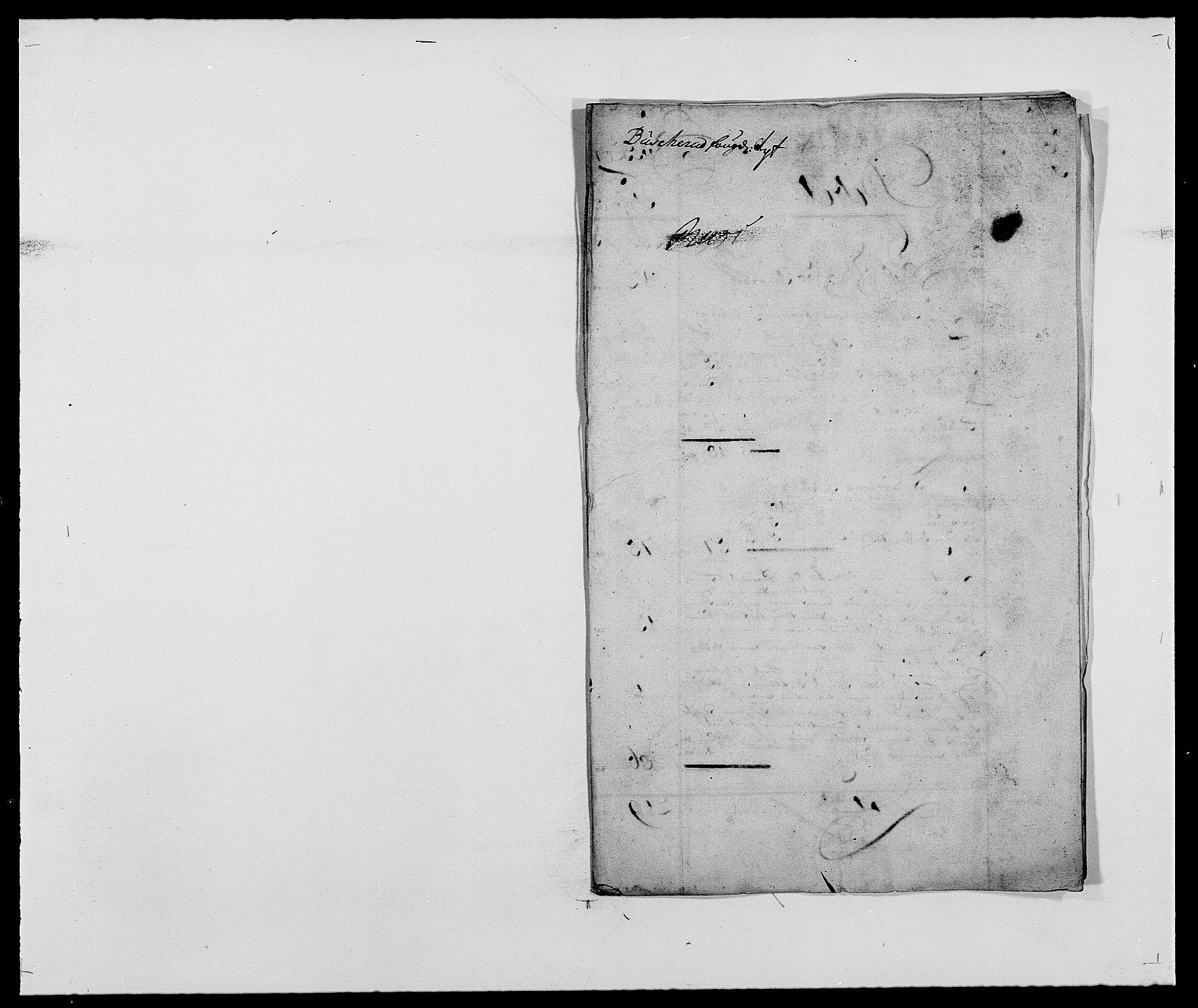 RA, Rentekammeret inntil 1814, Reviderte regnskaper, Fogderegnskap, R25/L1680: Fogderegnskap Buskerud, 1689-1690, s. 12
