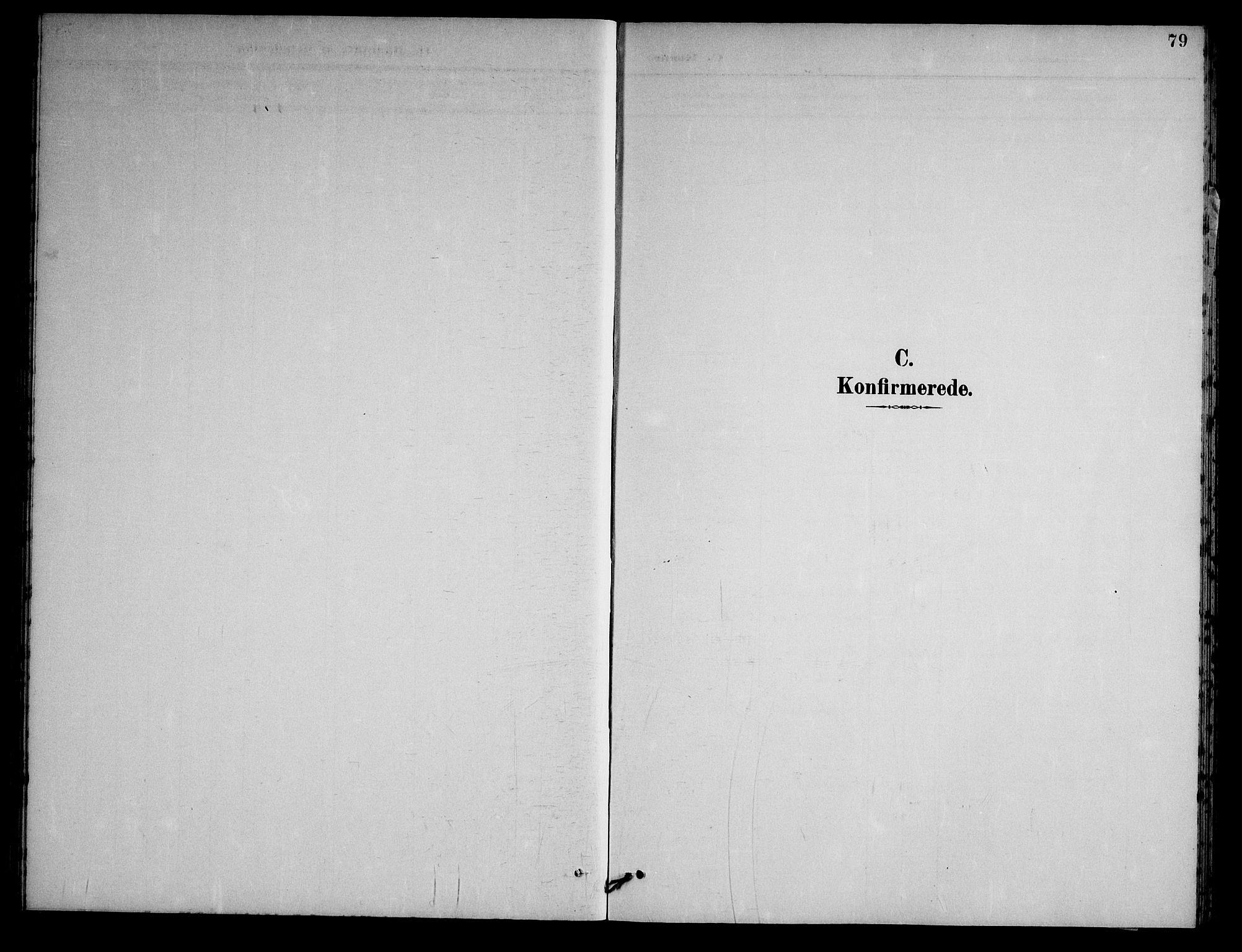 SAKO, Nissedal kirkebøker, G/Gb/L0003: Klokkerbok nr. II 3, 1893-1928, s. 79