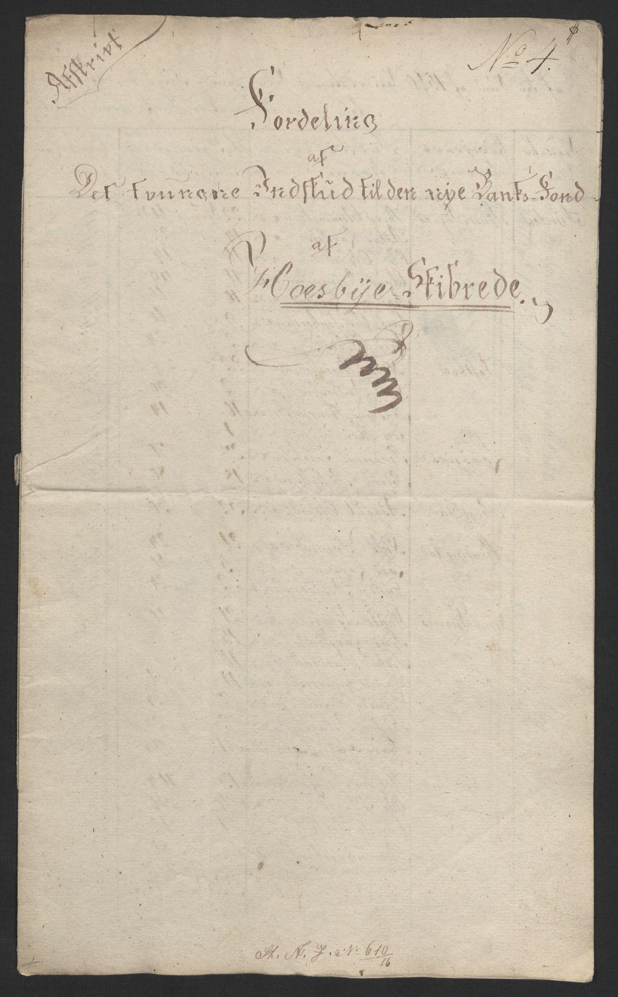 NOBA, Norges Bank/Sølvskatten 1816*, 1816, s. 29