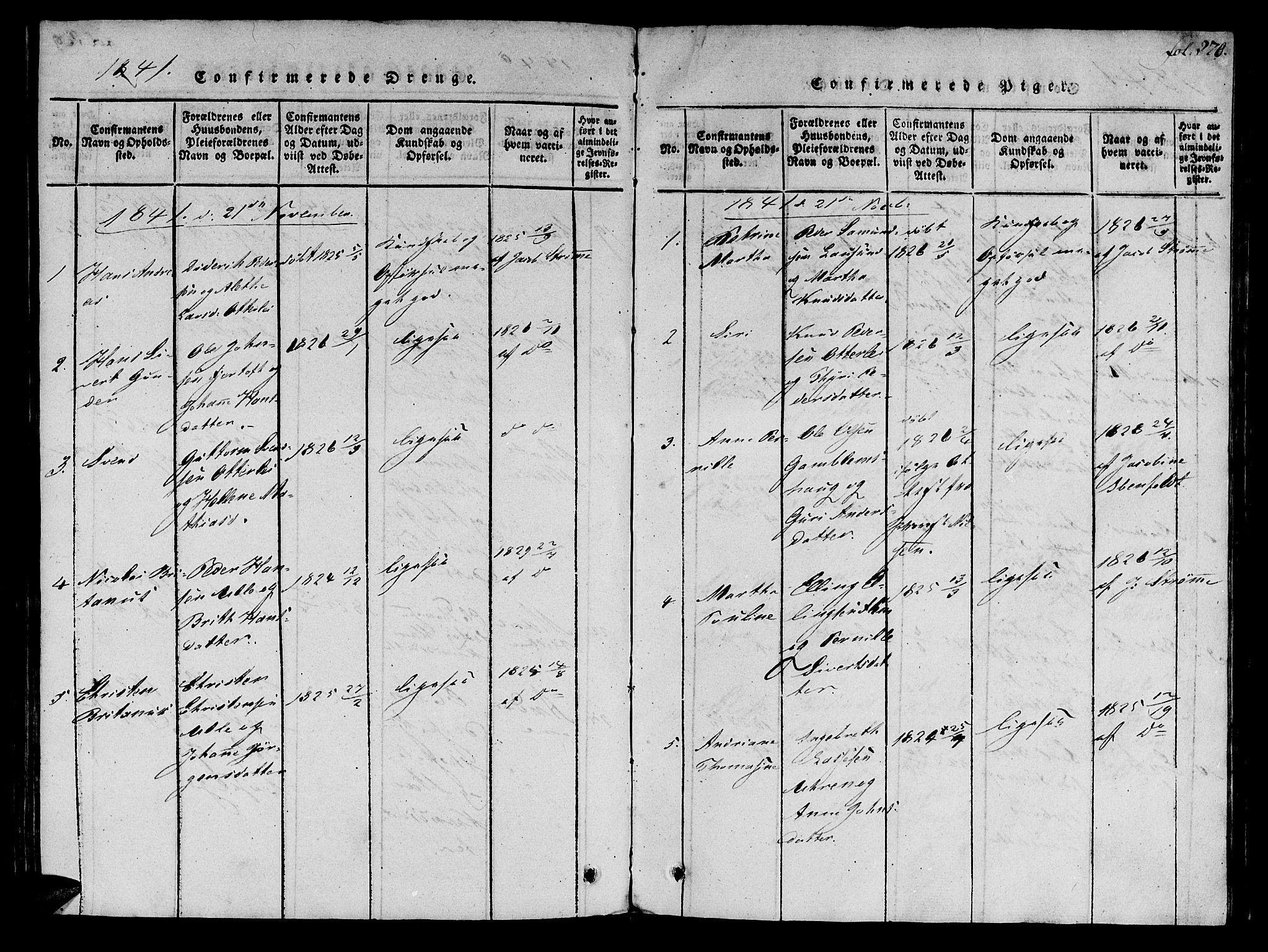 SAT, Ministerialprotokoller, klokkerbøker og fødselsregistre - Møre og Romsdal, 536/L0495: Ministerialbok nr. 536A04, 1818-1847, s. 270