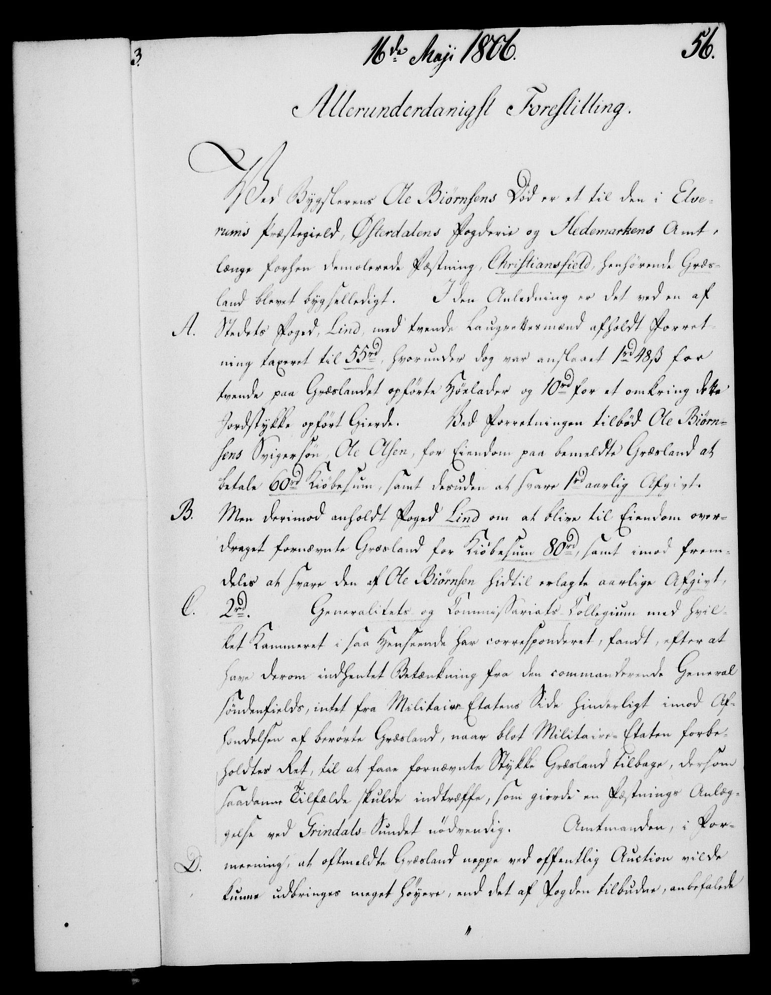 RA, Rentekammeret, Kammerkanselliet, G/Gf/Gfa/L0088: Norsk relasjons- og resolusjonsprotokoll (merket RK 52.88), 1806, s. 337
