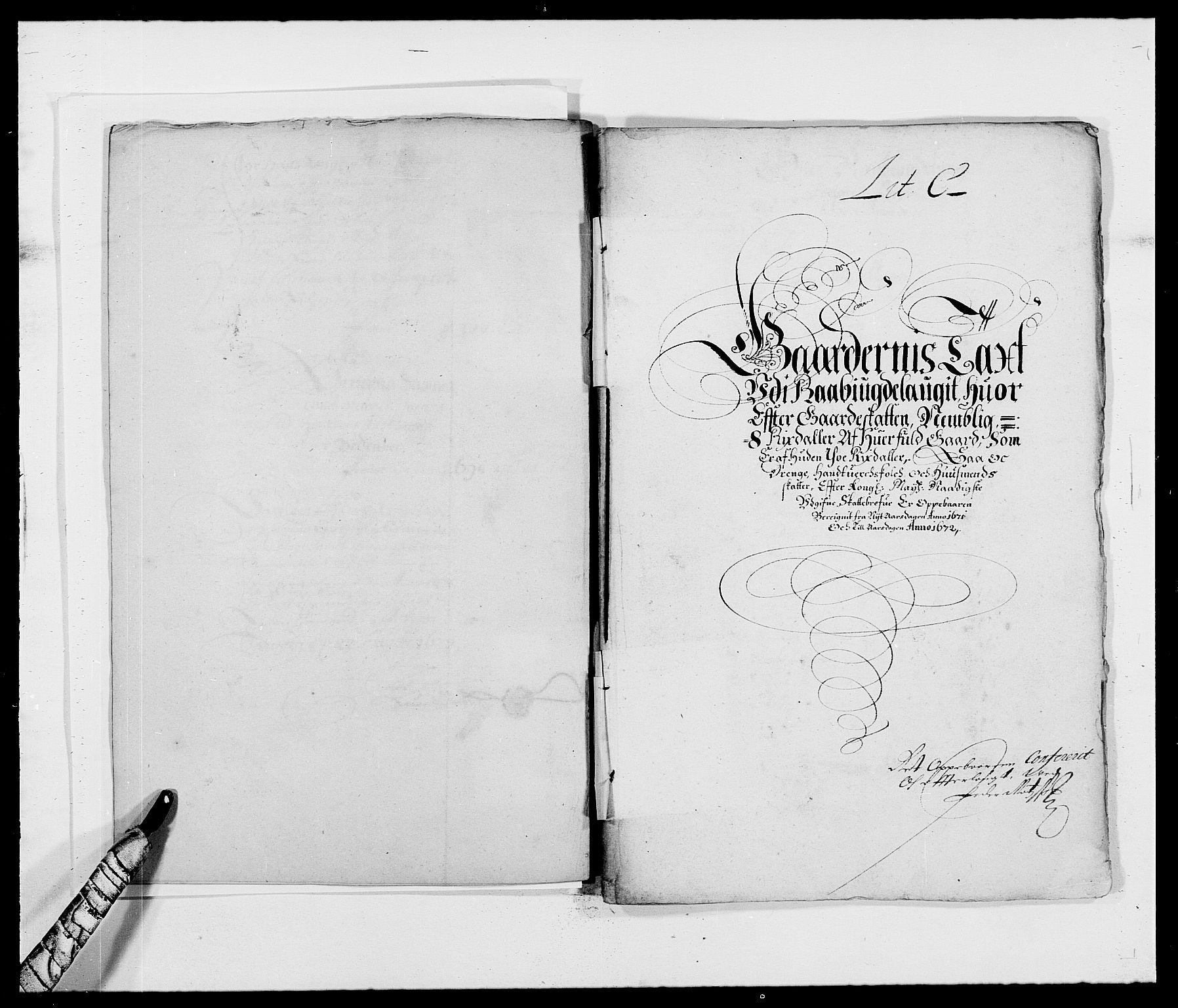 RA, Rentekammeret inntil 1814, Reviderte regnskaper, Fogderegnskap, R40/L2433: Fogderegnskap Råbyggelag, 1671-1674, s. 13
