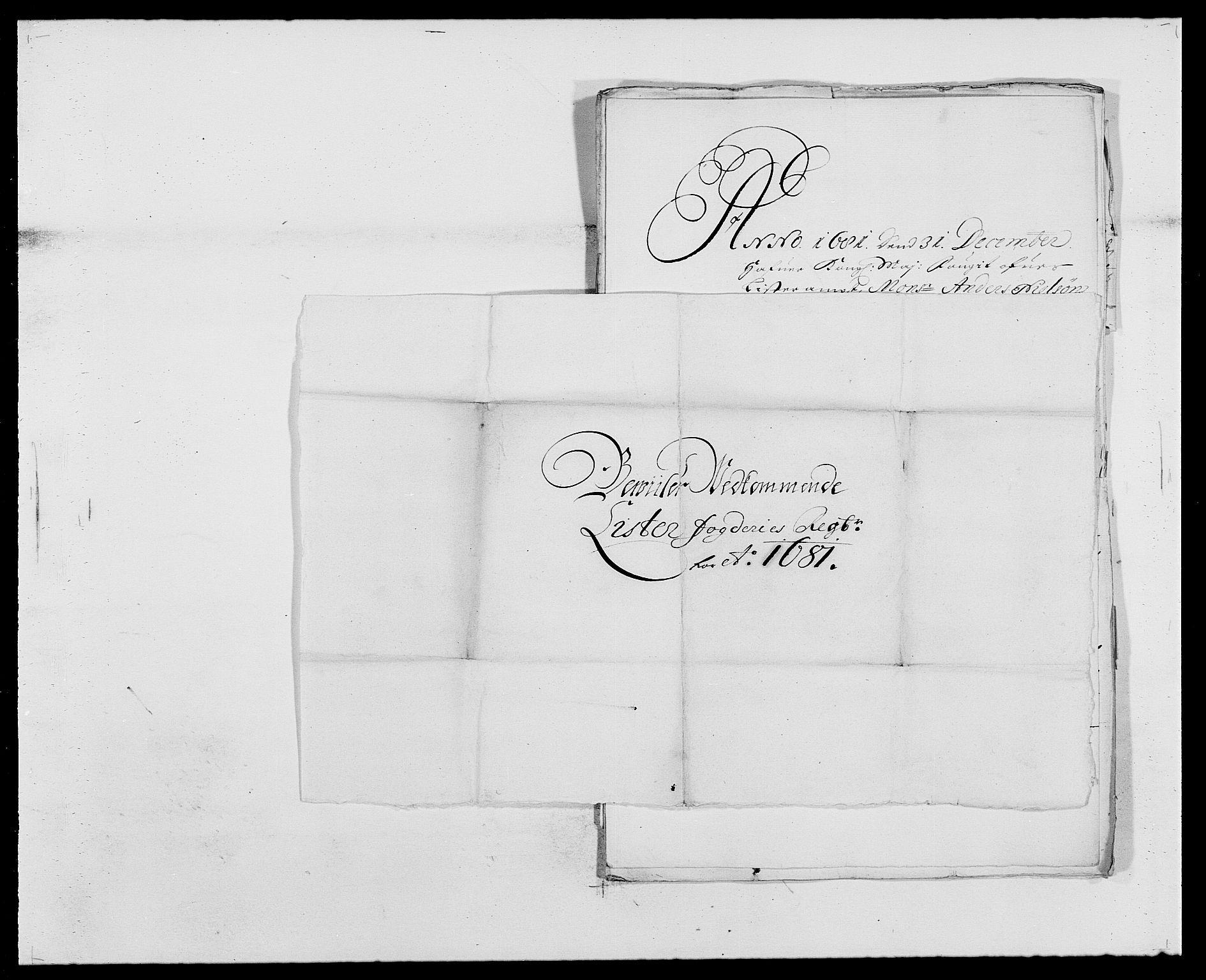 RA, Rentekammeret inntil 1814, Reviderte regnskaper, Fogderegnskap, R41/L2531: Fogderegnskap Lista, 1680-1682, s. 155