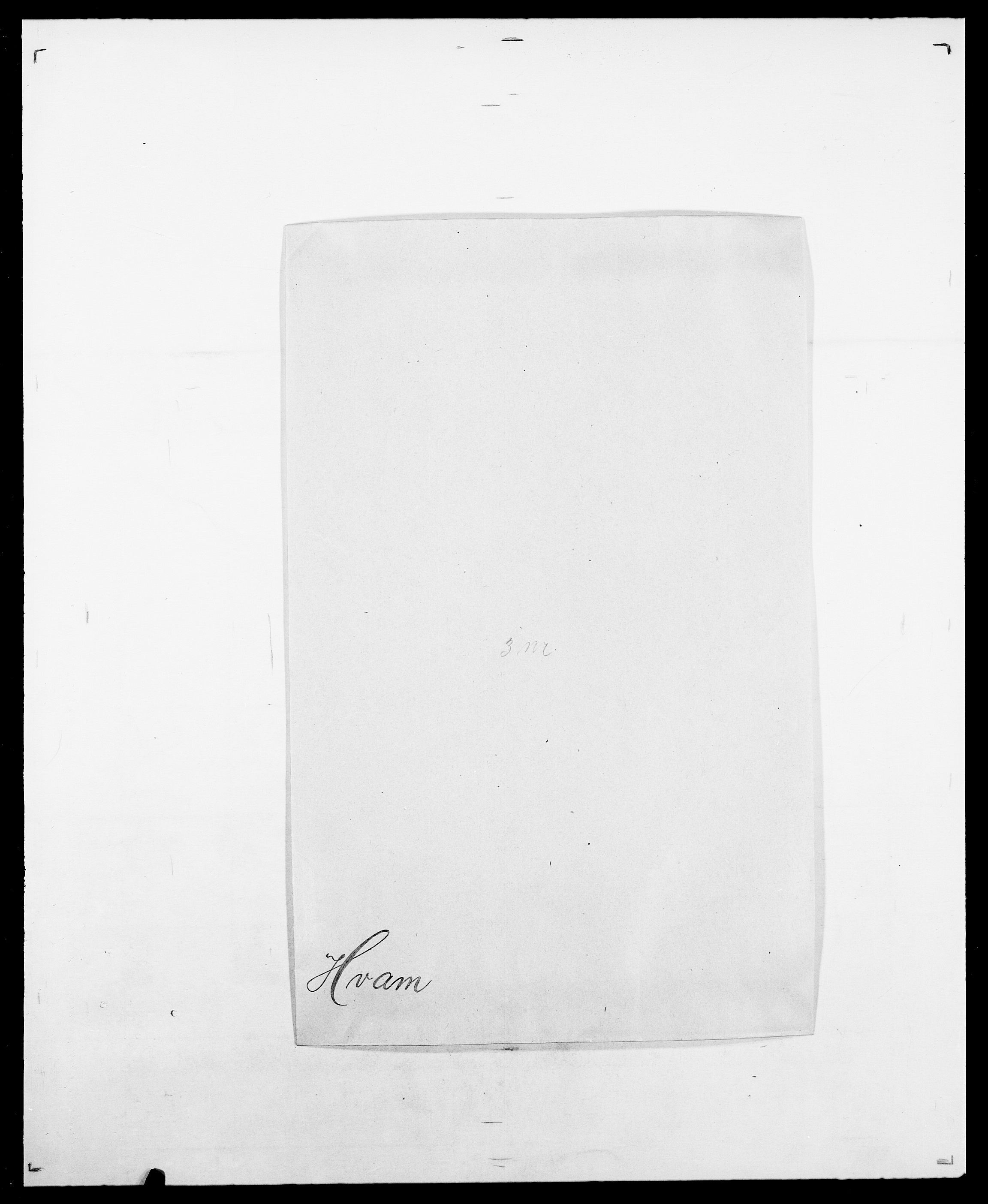 SAO, Delgobe, Charles Antoine - samling, D/Da/L0019: van der Hude - Joys, s. 118