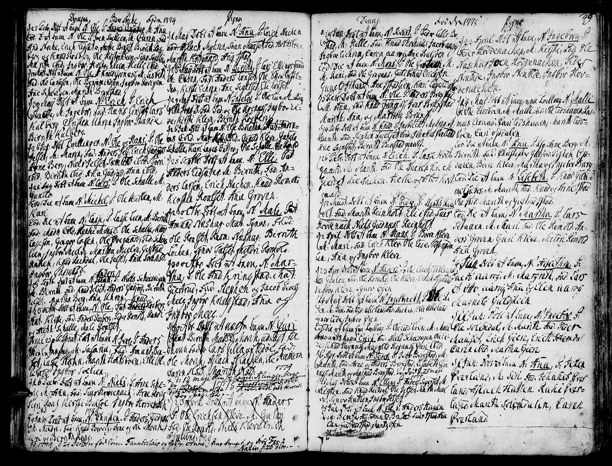 SAT, Ministerialprotokoller, klokkerbøker og fødselsregistre - Møre og Romsdal, 555/L0648: Ministerialbok nr. 555A01, 1759-1793, s. 49