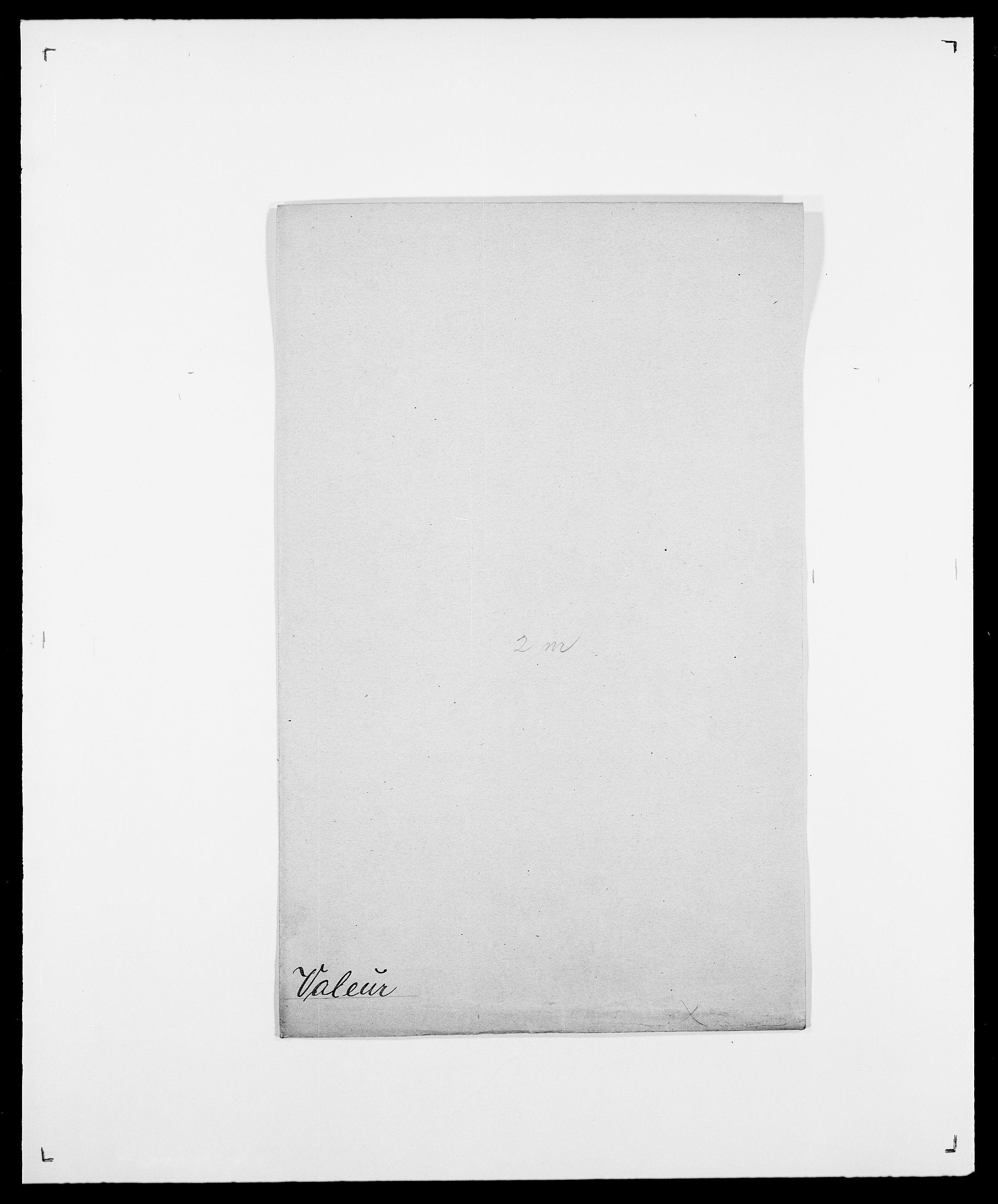 SAO, Delgobe, Charles Antoine - samling, D/Da/L0040: Usgaard - Velund, s. 156