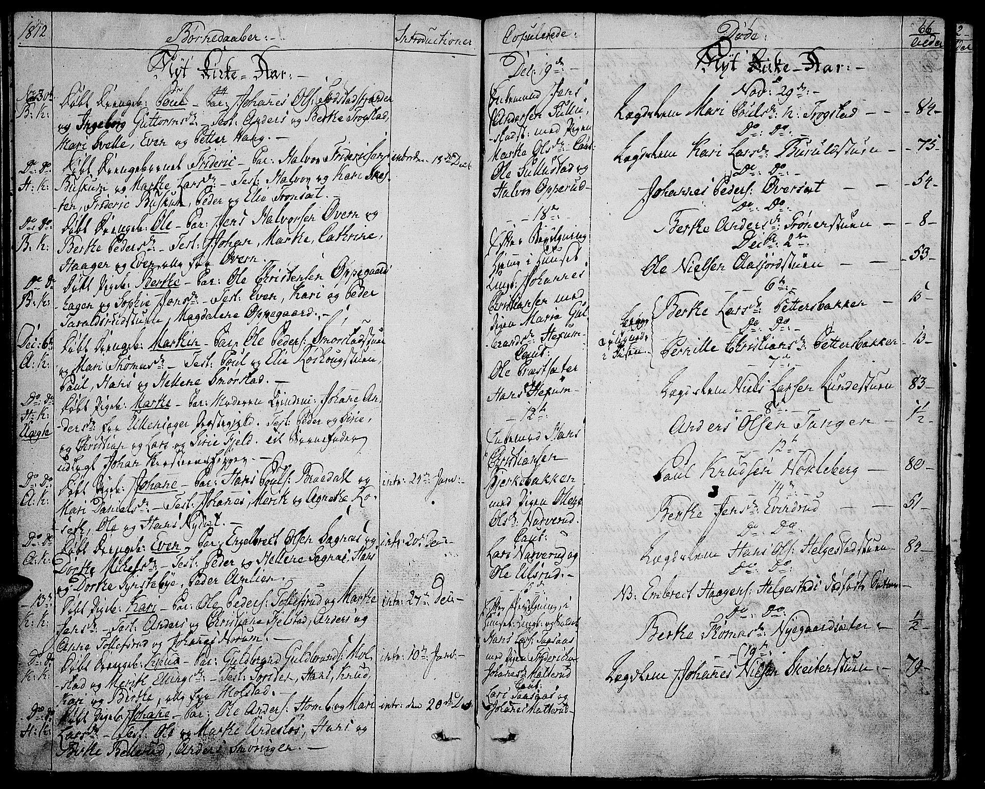 SAH, Toten prestekontor, Ministerialbok nr. 8, 1809-1814, s. 66