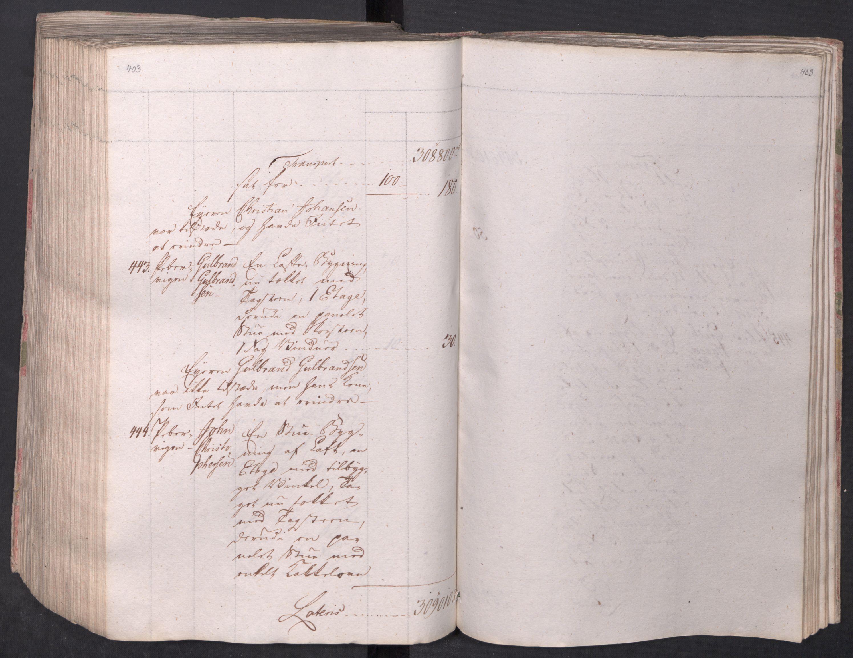 SAO, Kristiania stiftamt, I/Ia/L0015: Branntakster, 1797, s. 403