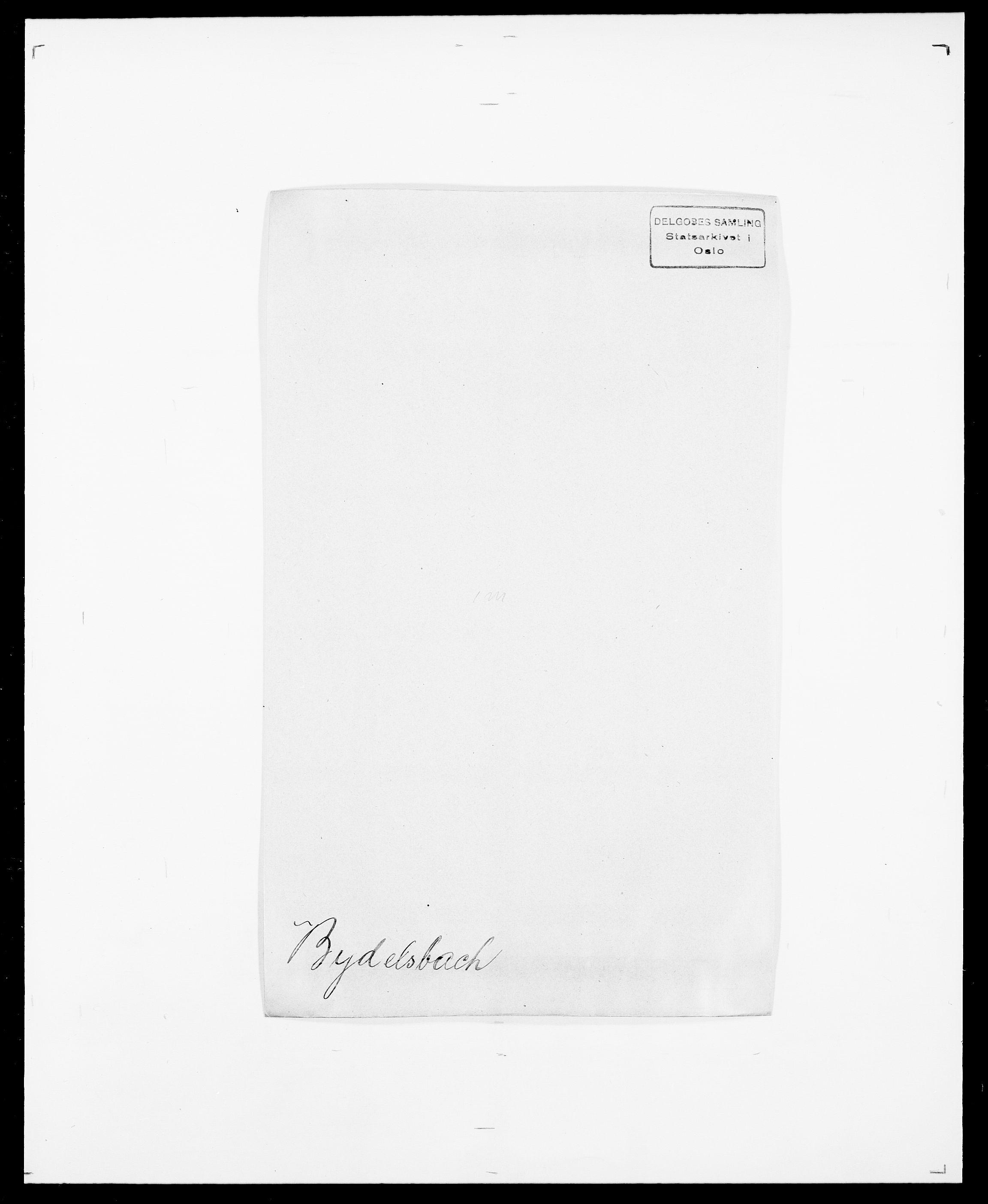 SAO, Delgobe, Charles Antoine - samling, D/Da/L0007: Buaas - Caphengst, s. 498