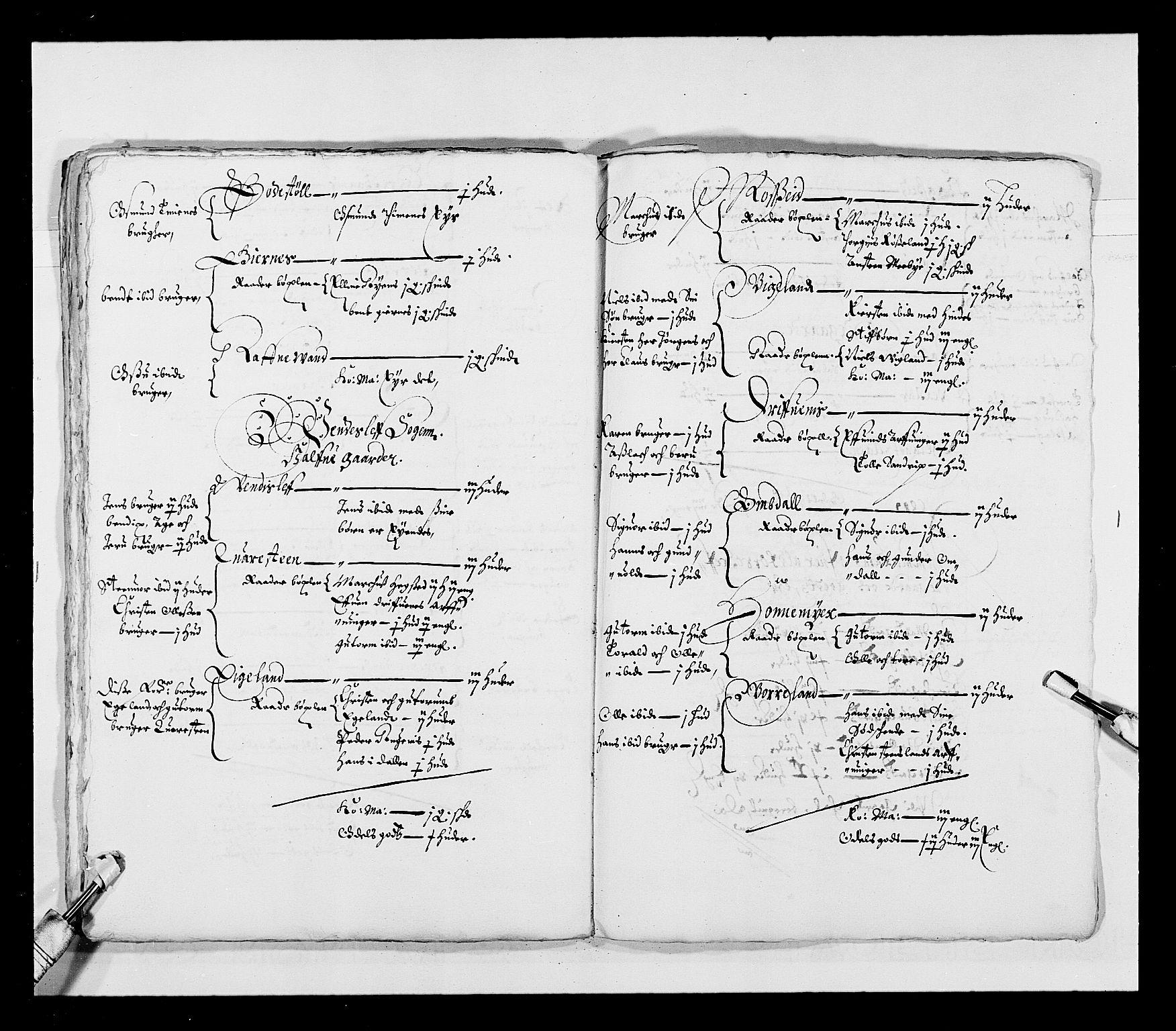 RA, Stattholderembetet 1572-1771, Ek/L0023: Jordebøker 1633-1658:, 1648-1649, s. 83