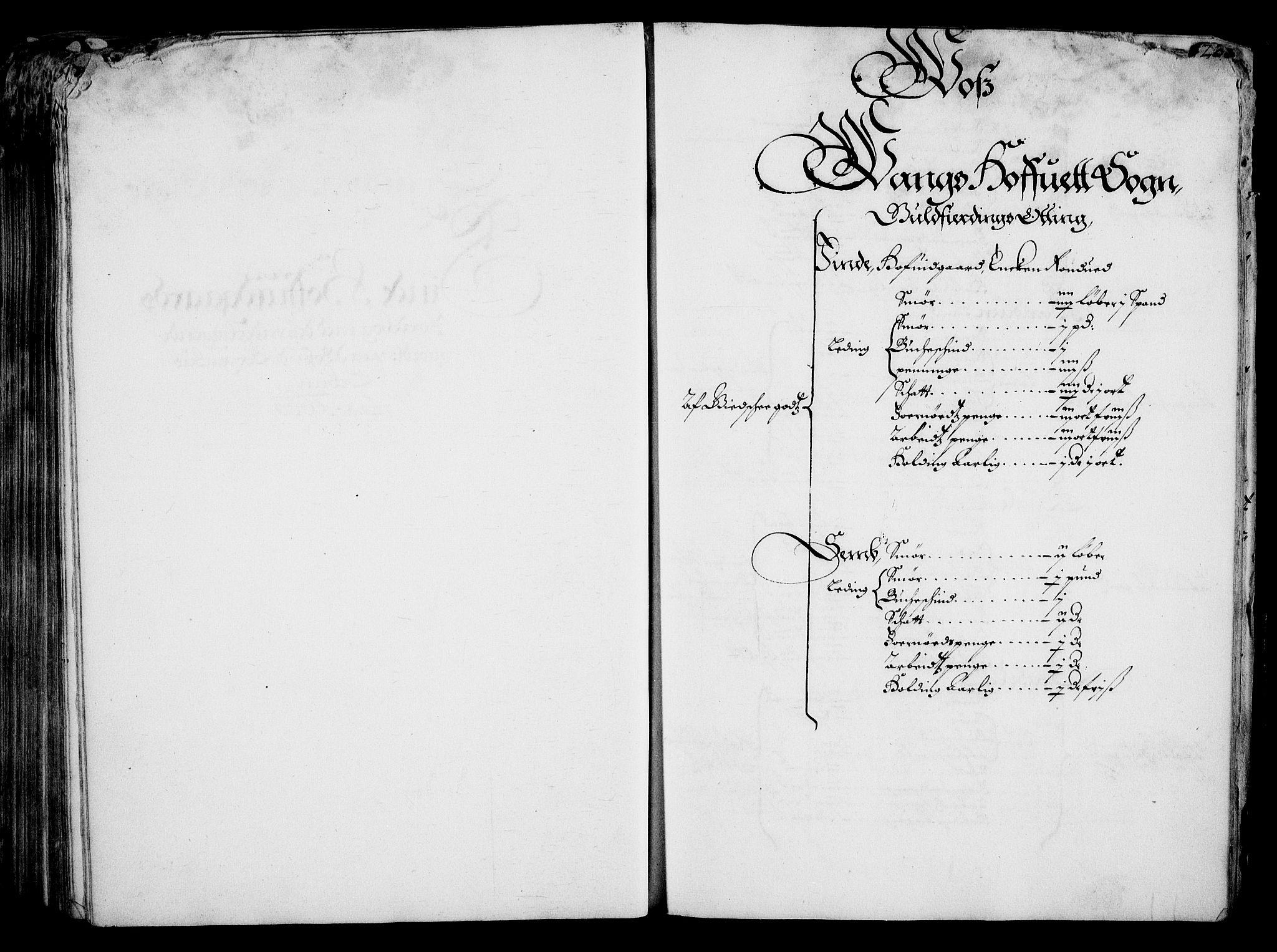 RA, Rentekammeret inntil 1814, Realistisk ordnet avdeling, On/L0001: Statens gods, 1651, s. 218