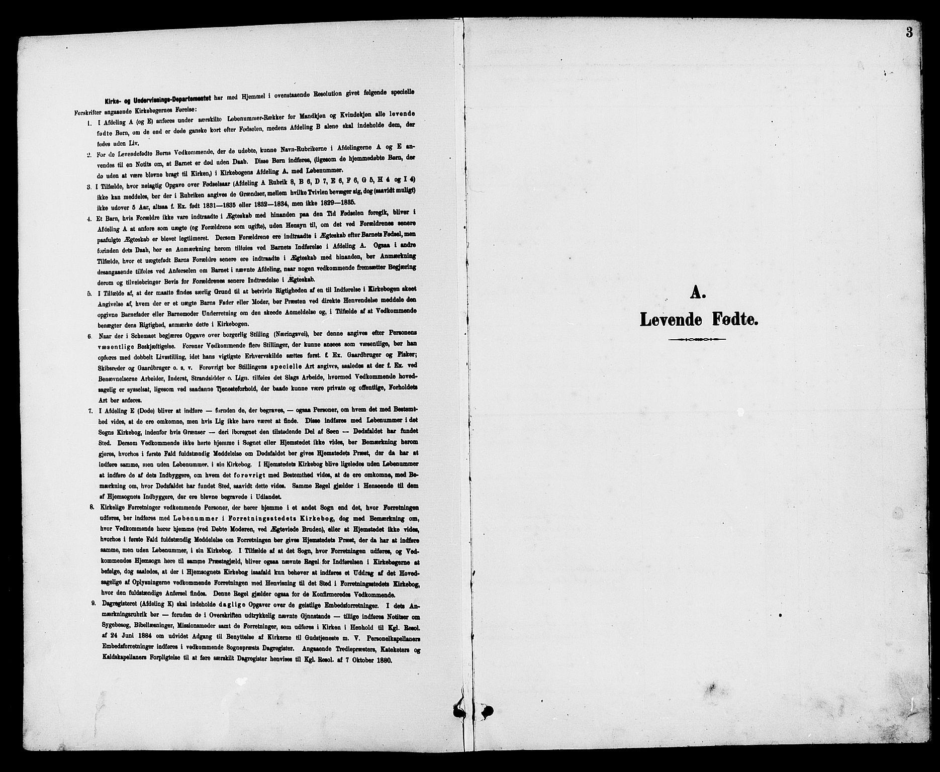 SAH, Vestre Toten prestekontor, H/Ha/Hab/L0010: Klokkerbok nr. 10, 1900-1912, s. 3