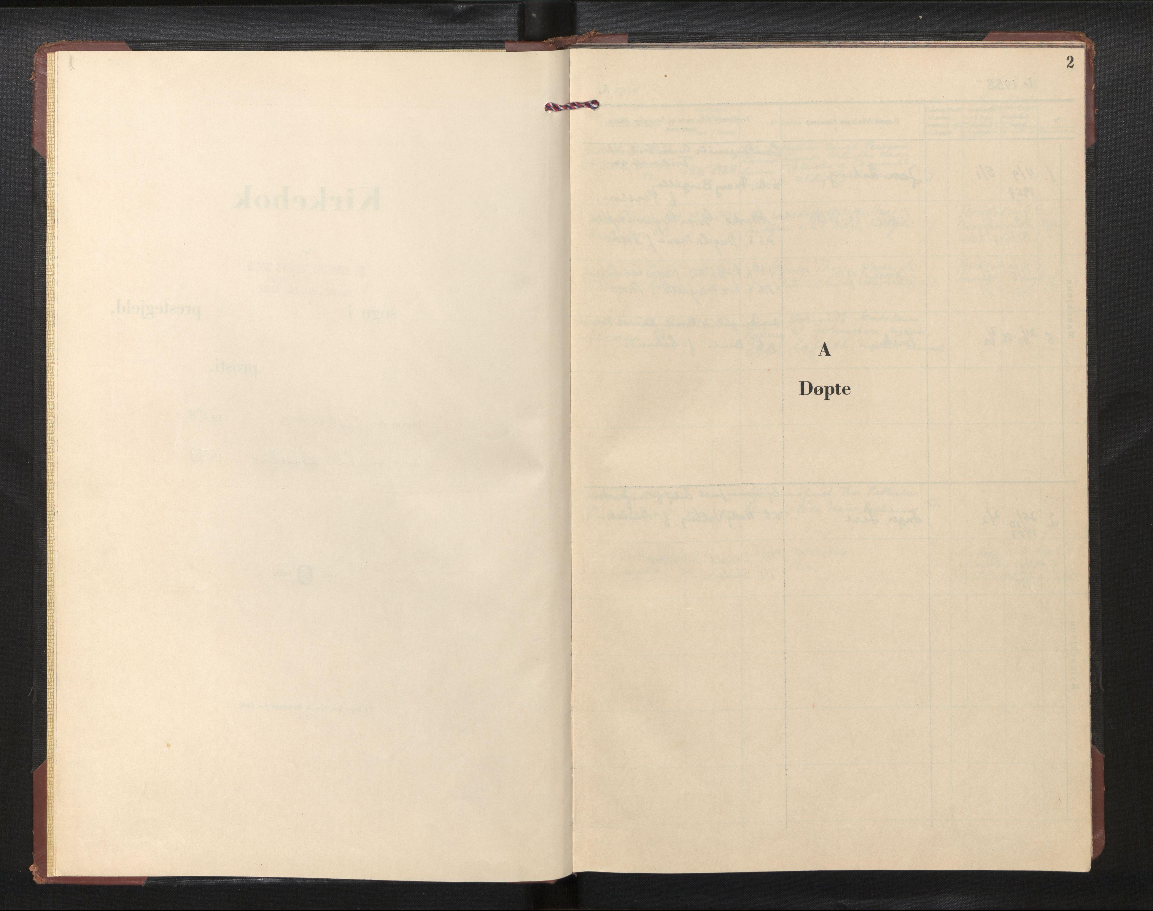 SAB, Privatarkiv 113 - Den norske sjømannsmisjon i utlandet/Philadelphia, H/Ha/L0003: Ministerialbok nr. A 3, 1958-1979, s. 1b-2a