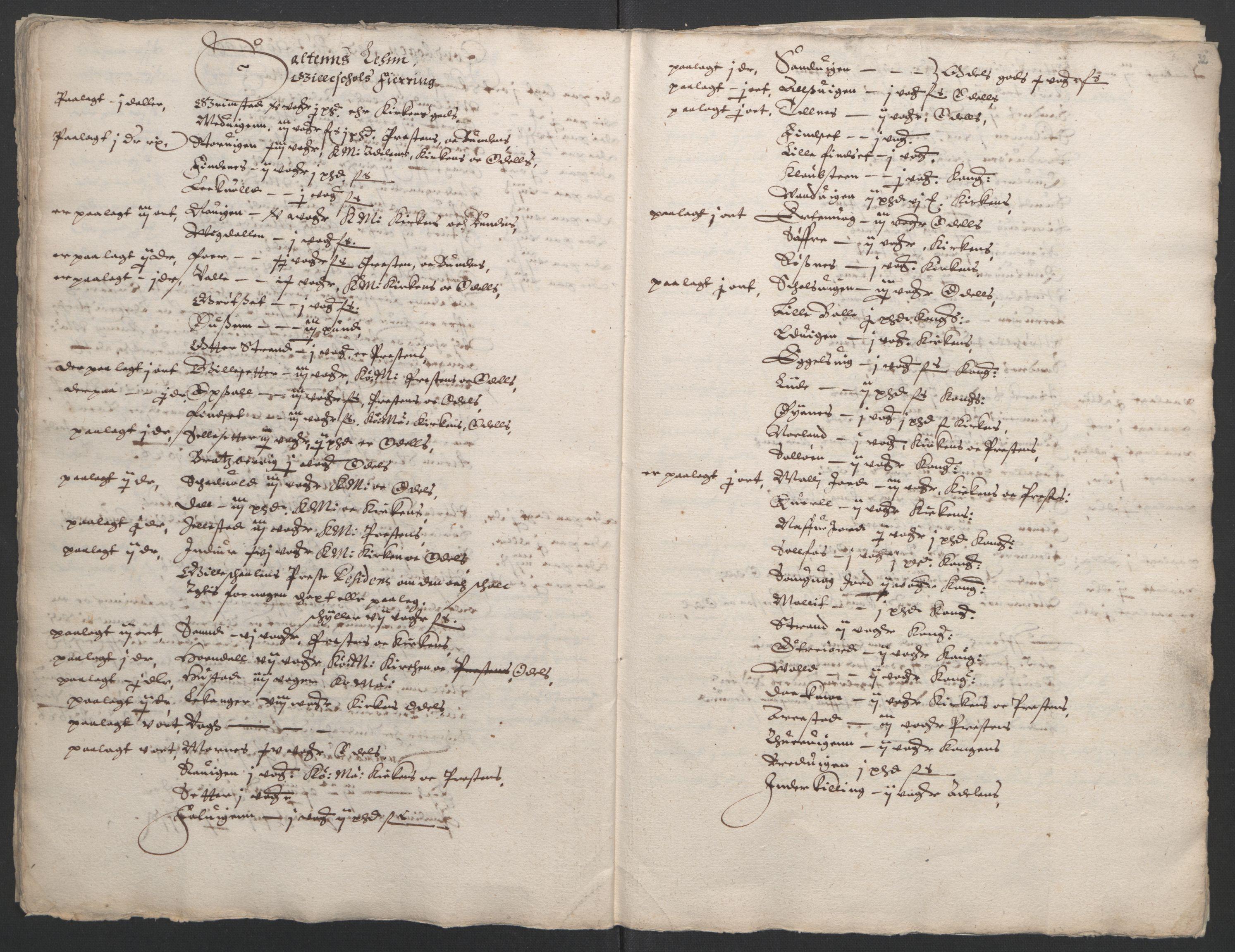 RA, Stattholderembetet 1572-1771, Ek/L0006: Jordebøker til utlikning av garnisonsskatt 1624-1626:, 1626, s. 34