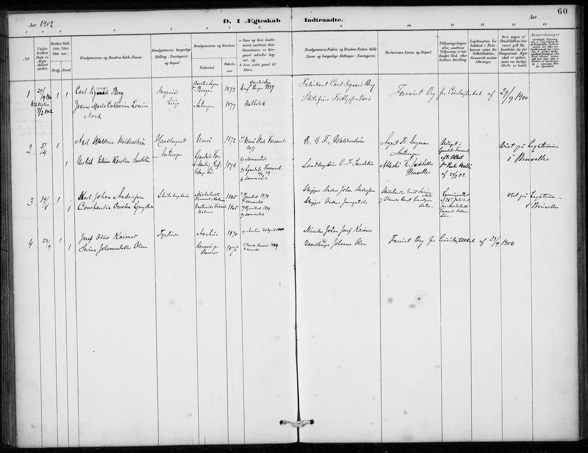 SAB, Den Norske Sjømannsmisjon i utlandet*, Ministerialbok nr. A 2, 1887-1913, s. 60