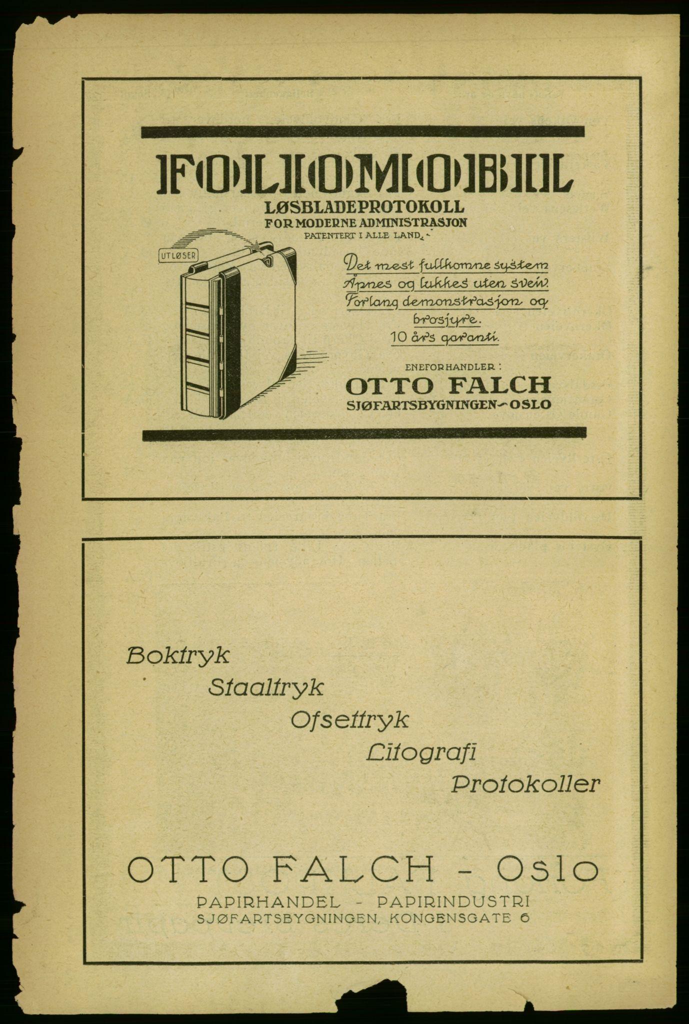 RA, Aker adressebok/adressekalender (publikasjon)*, 1929