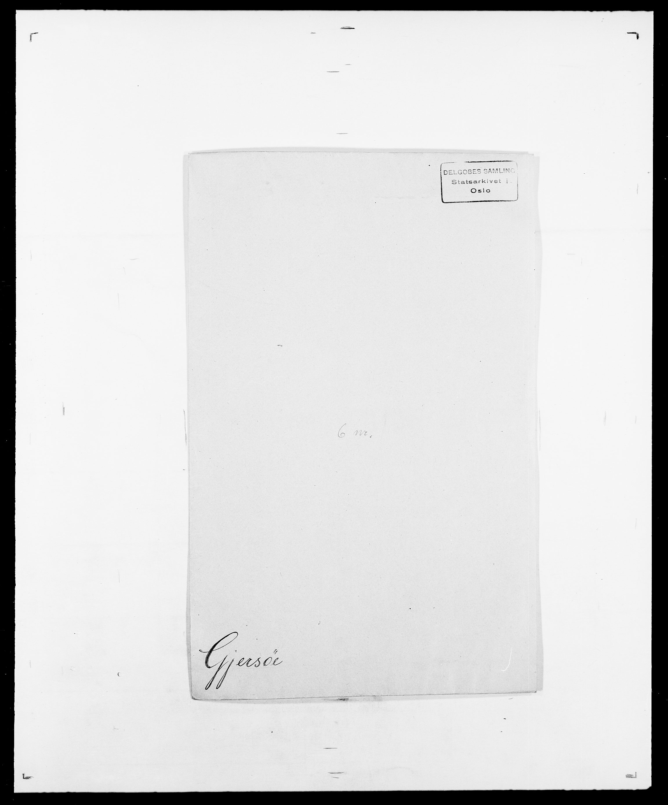 SAO, Delgobe, Charles Antoine - samling, D/Da/L0014: Giebdhausen - Grip, s. 155
