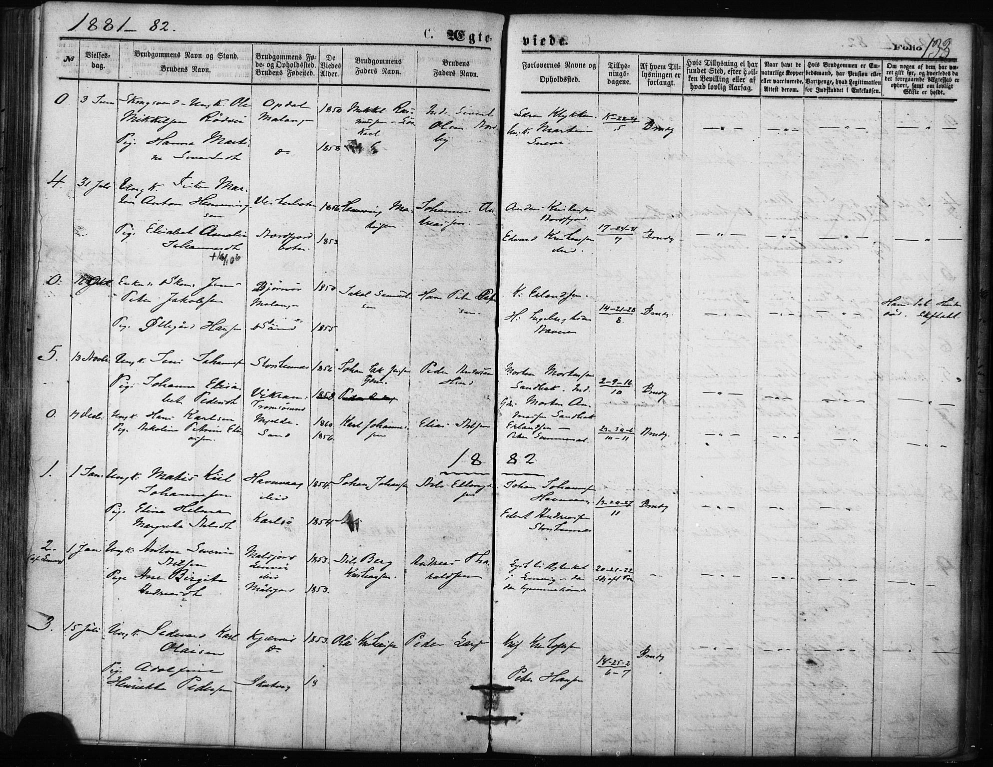 SATØ, Balsfjord sokneprestembete, Ministerialbok nr. 2, 1871-1886, s. 133