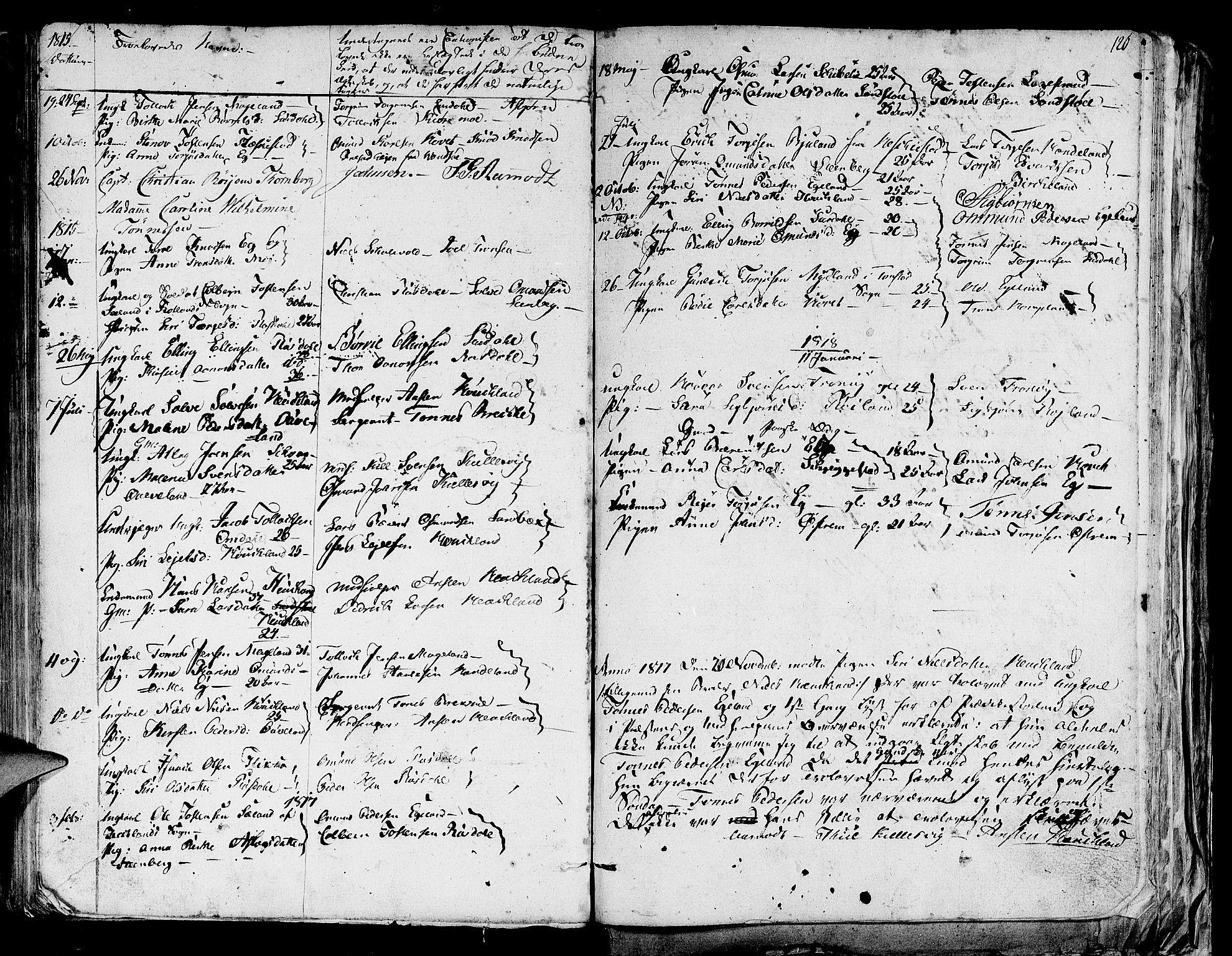 SAST, Lund sokneprestkontor, Ministerialbok nr. A 4 /1, 1801-1864, s. 120