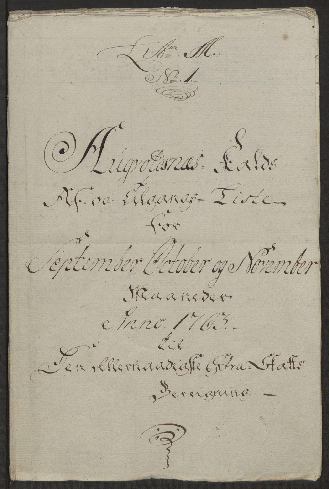 RA, Rentekammeret inntil 1814, Realistisk ordnet avdeling, Ol/L0016b: [Gg 10]: Ekstraskatten, 23.09.1762. Ryfylke, 1764-1768, s. 185