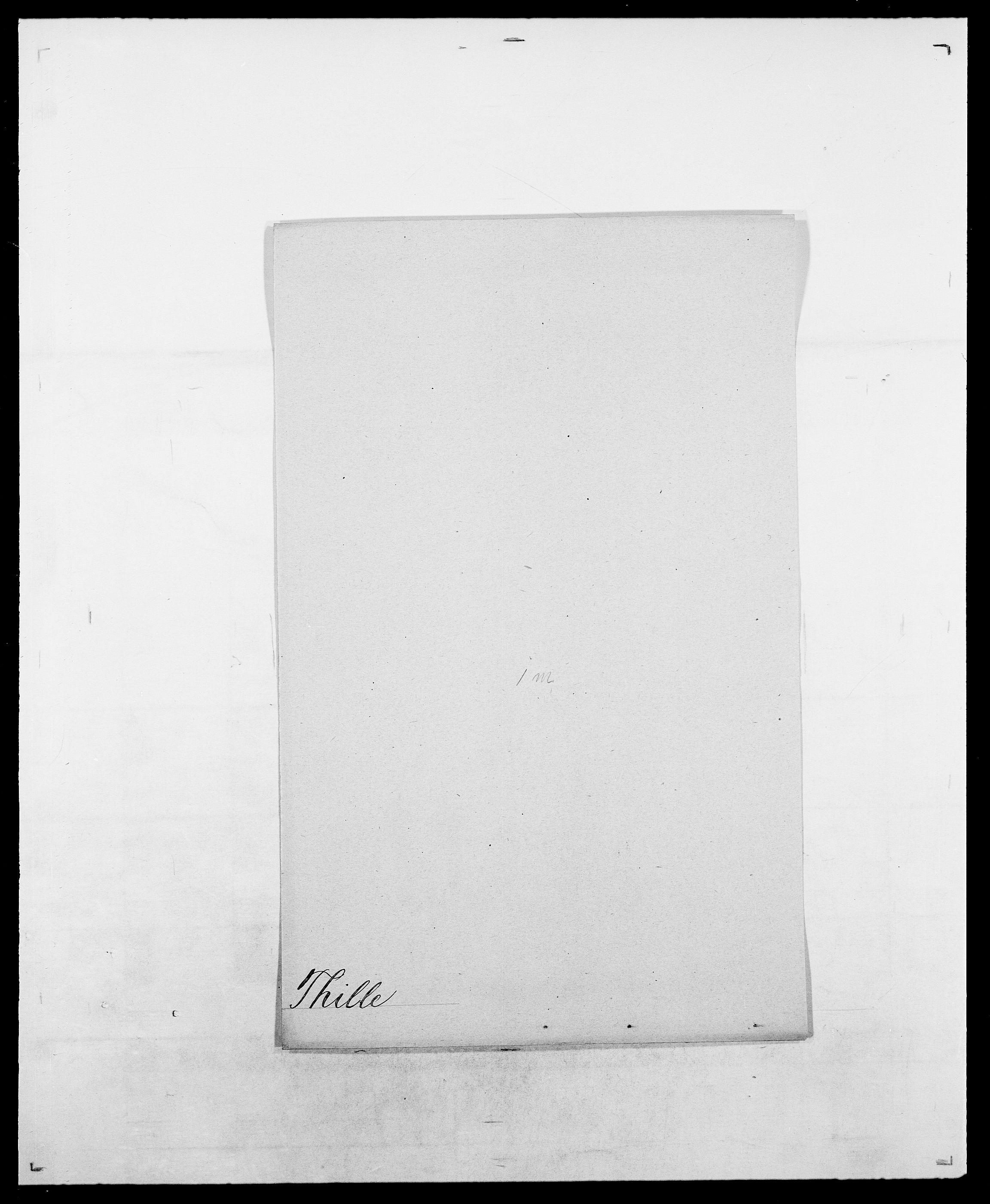 SAO, Delgobe, Charles Antoine - samling, D/Da/L0038: Svanenskjold - Thornsohn, s. 726