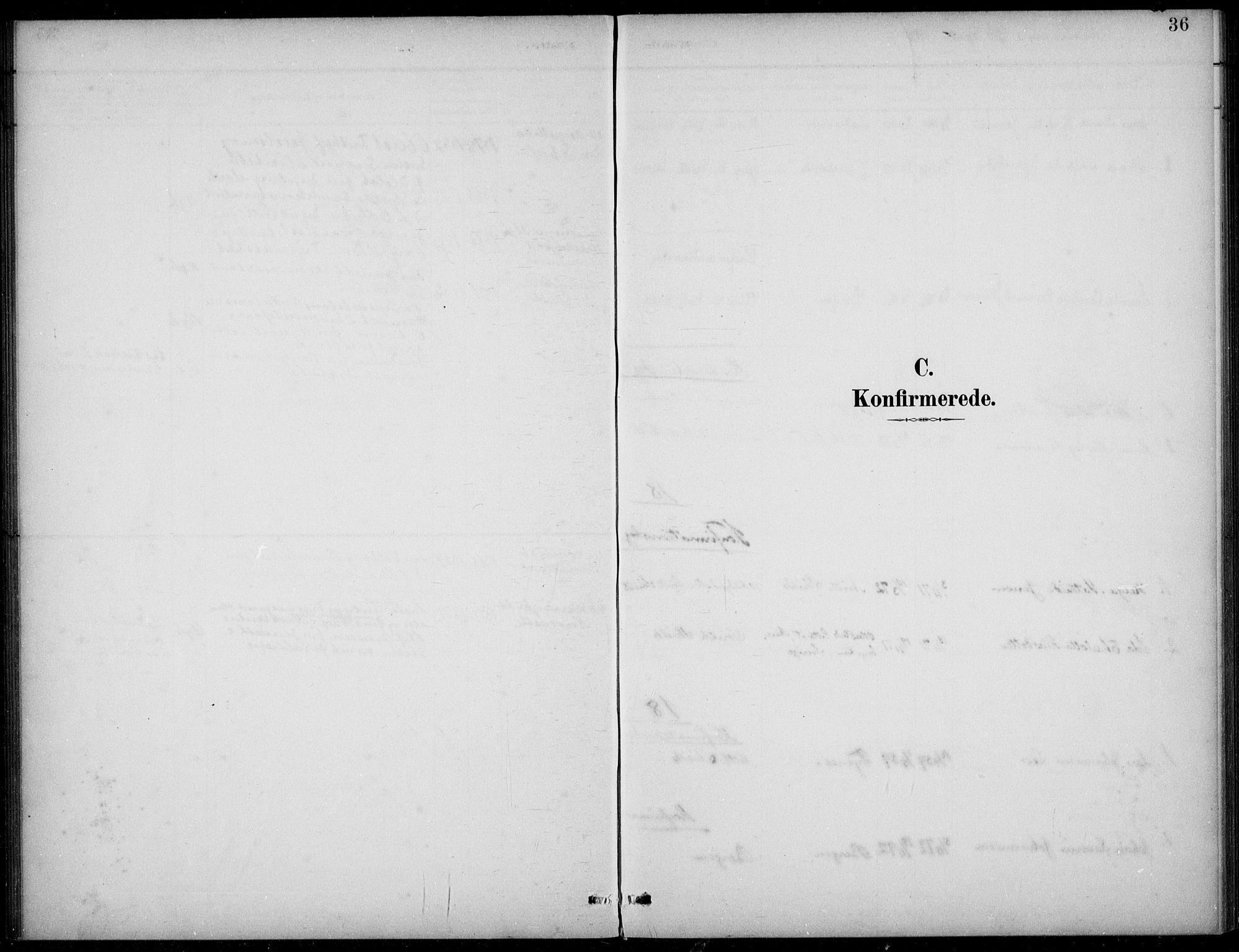 SAB, Den norske sjømannsmisjon i utlandet/Tyne-havnene (North Shields og New Castle), H/Ha/L0002: Ministerialbok nr. A 2, 1883-1938, s. 36