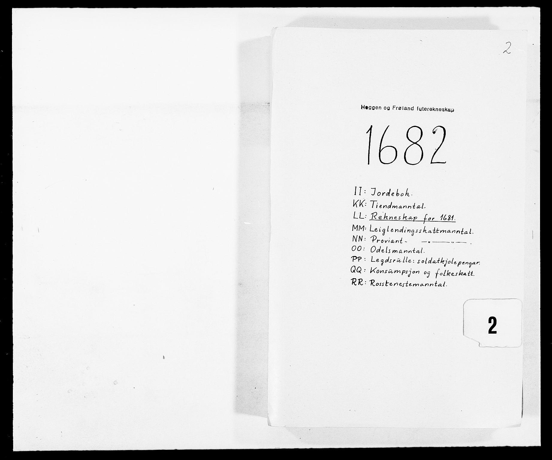 RA, Rentekammeret inntil 1814, Reviderte regnskaper, Fogderegnskap, R06/L0280: Fogderegnskap Heggen og Frøland, 1681-1684, s. 175