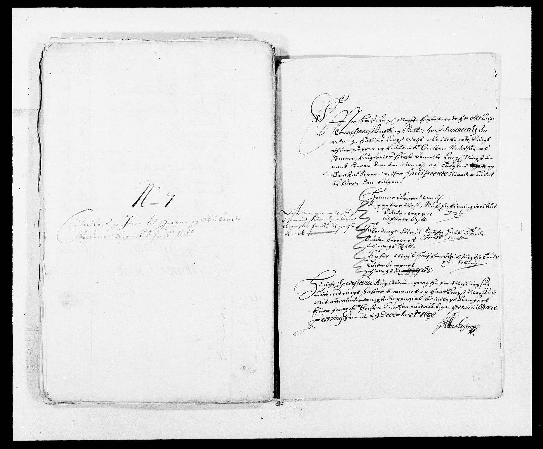 RA, Rentekammeret inntil 1814, Reviderte regnskaper, Fogderegnskap, R06/L0282: Fogderegnskap Heggen og Frøland, 1687-1690, s. 111