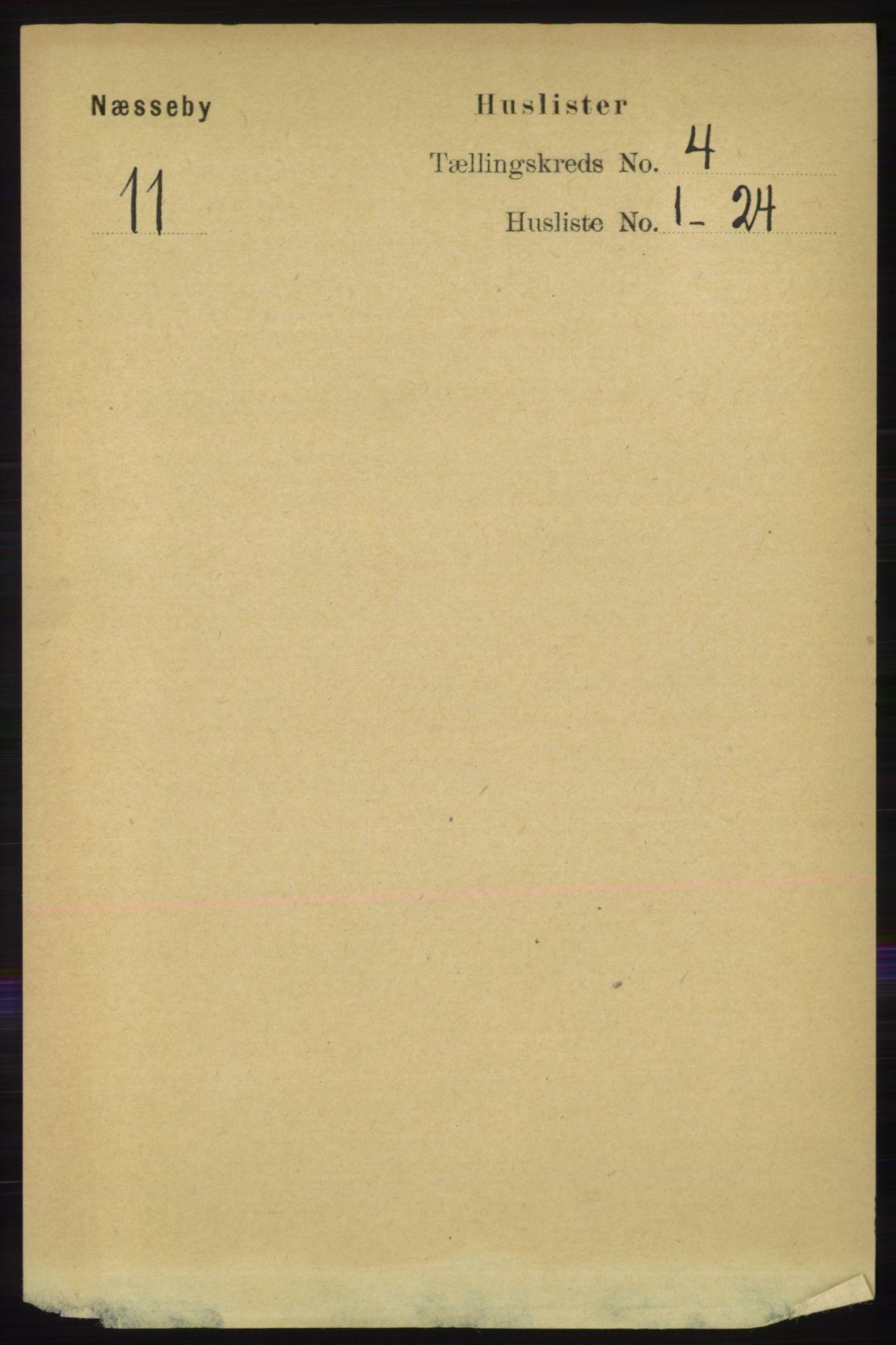 RA, Folketelling 1891 for 2027 Nesseby herred, 1891, s. 1207