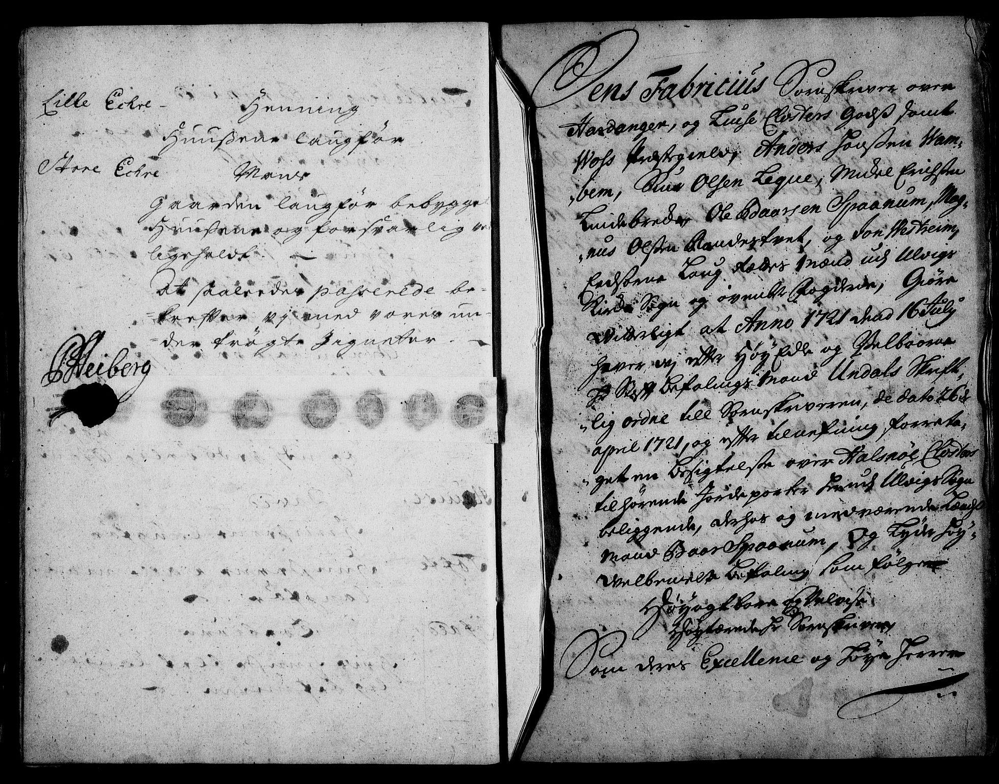 RA, Rentekammeret inntil 1814, Realistisk ordnet avdeling, On/L0003: [Jj 4]: Kommisjonsforretning over Vilhelm Hanssøns forpaktning av Halsnøy klosters gods, 1721-1729, s. 68