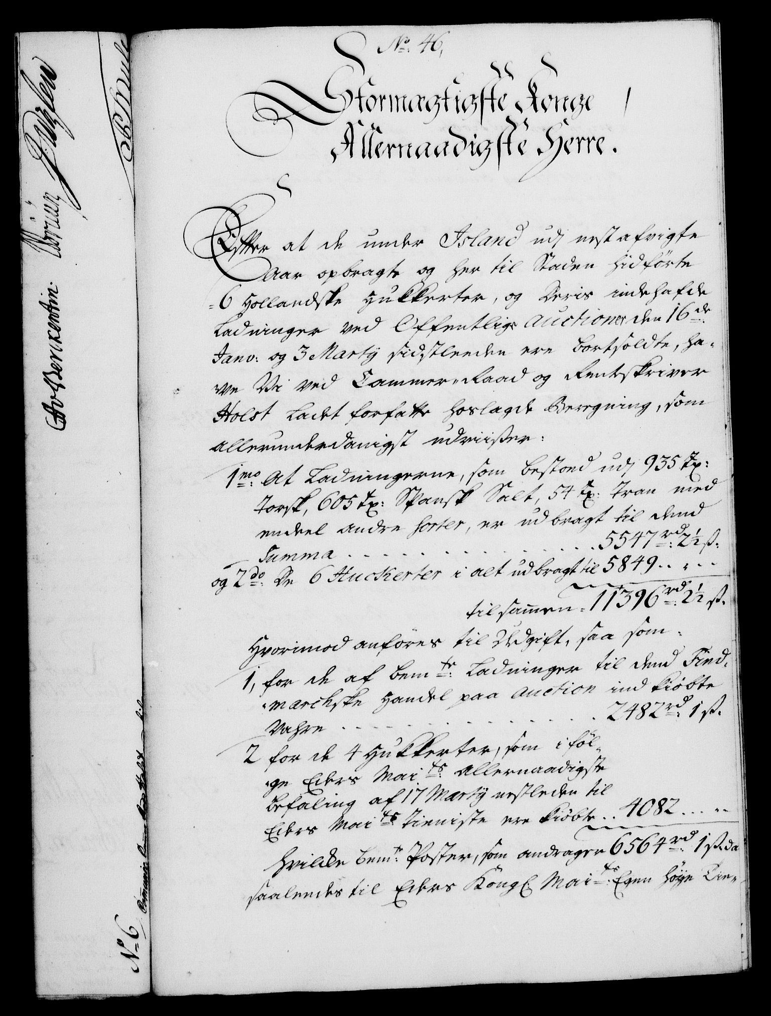 RA, Rentekammeret, Kammerkanselliet, G/Gf/Gfa/L0024: Norsk relasjons- og resolusjonsprotokoll (merket RK 52.24), 1741, s. 259