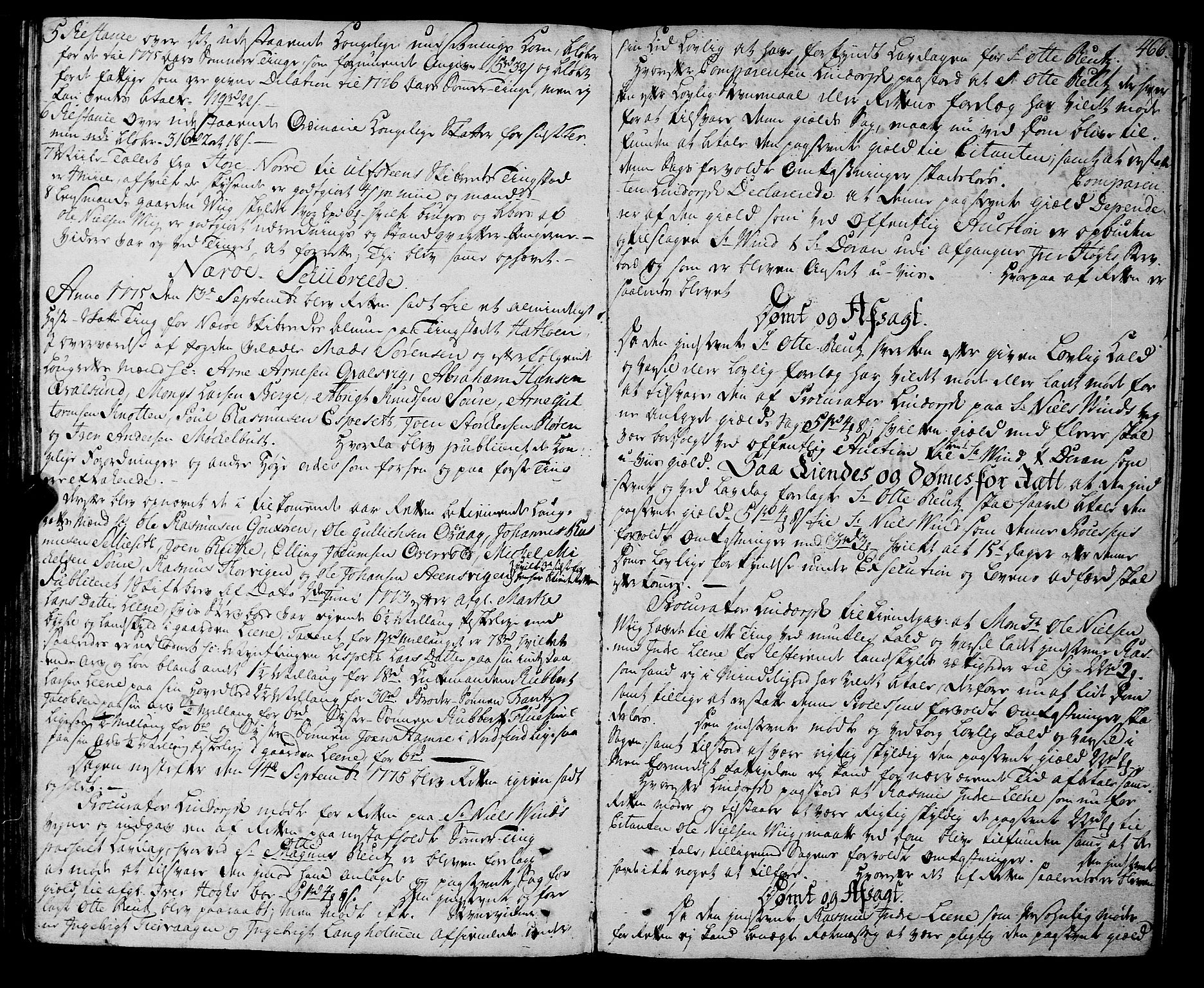 SAT, Sunnmøre sorenskriveri, 1/1A/L0041: Tingbok 35B, 1774-1777, s. 465b-466a
