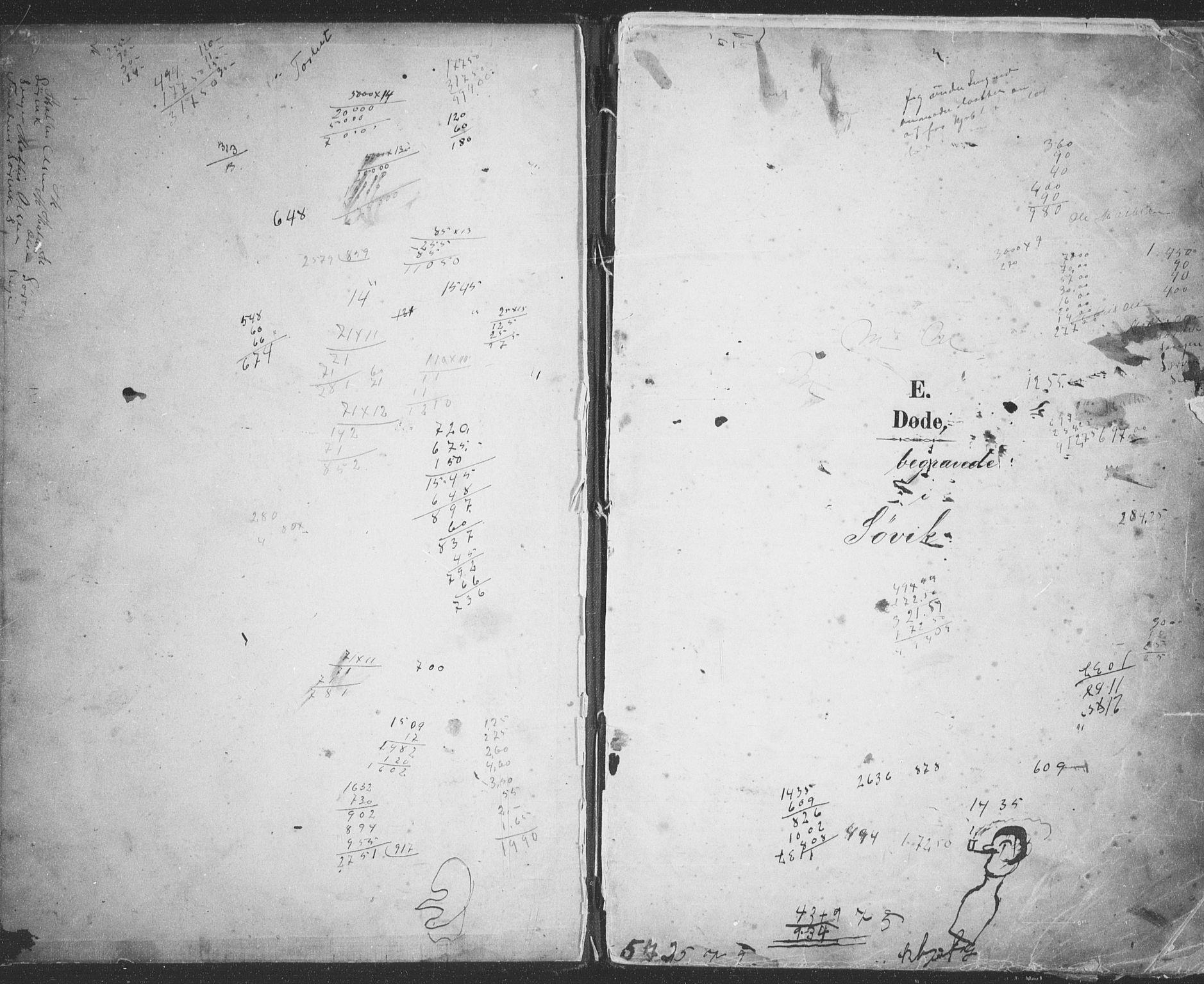 SATØ, Trondenes sokneprestkontor, H/Hb/L0013klokker: Klokkerbok nr. 13, 1891-1916