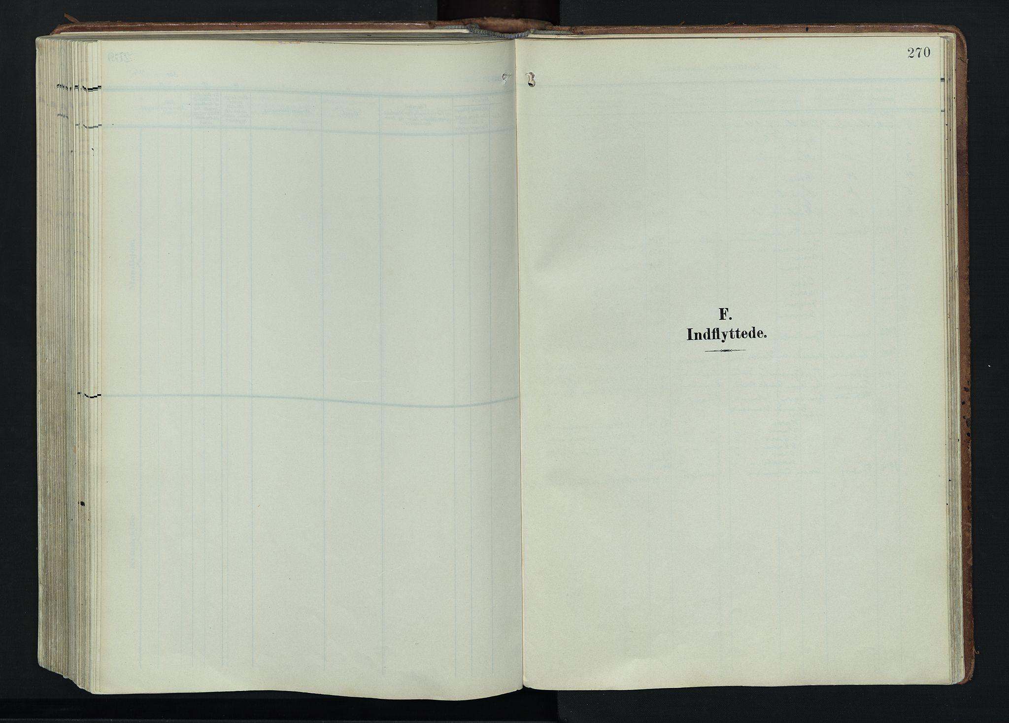 SAH, Vågå prestekontor, Ministerialbok nr. 11, 1905-1924, s. 270