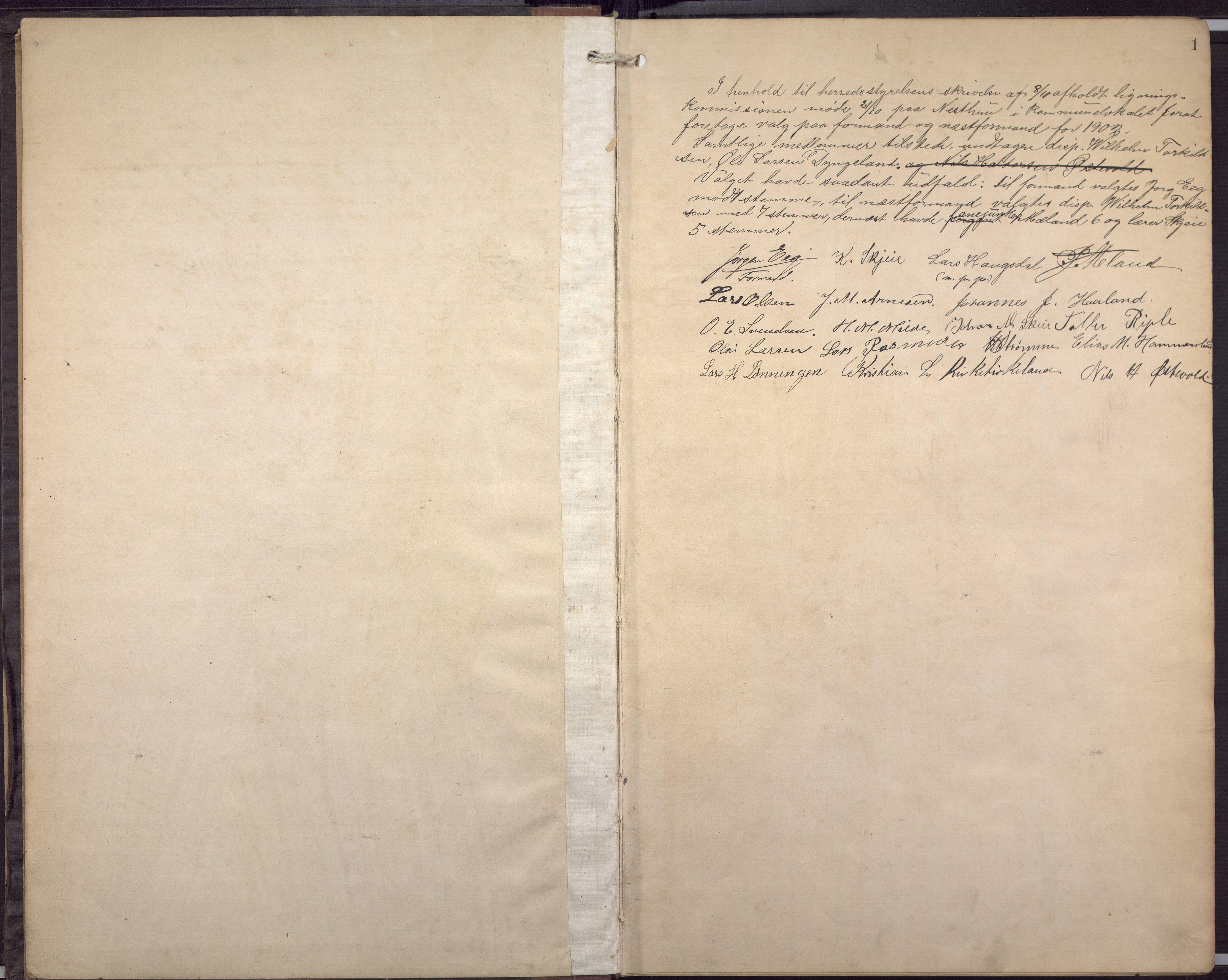 BBA, Fana kommune. Herredskassereren, J/Jc/L0007: Skattelister/ligningsprotokoll, 1901-1906, s. 3