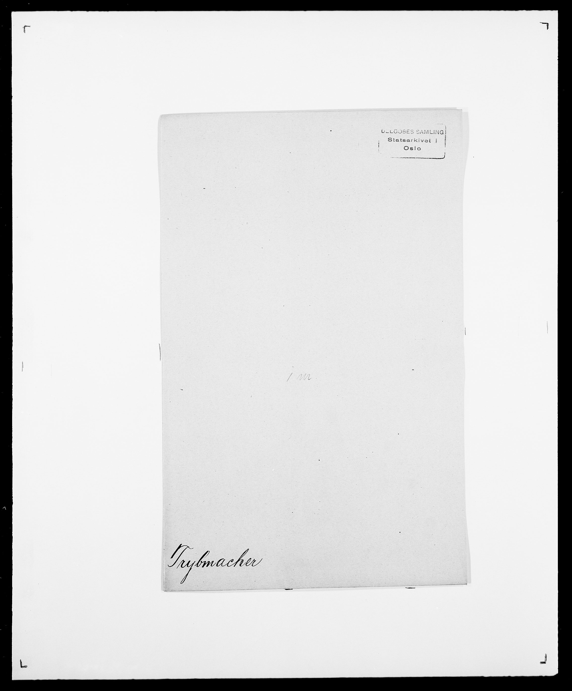 SAO, Delgobe, Charles Antoine - samling, D/Da/L0039: Thorsen - Urup, s. 420