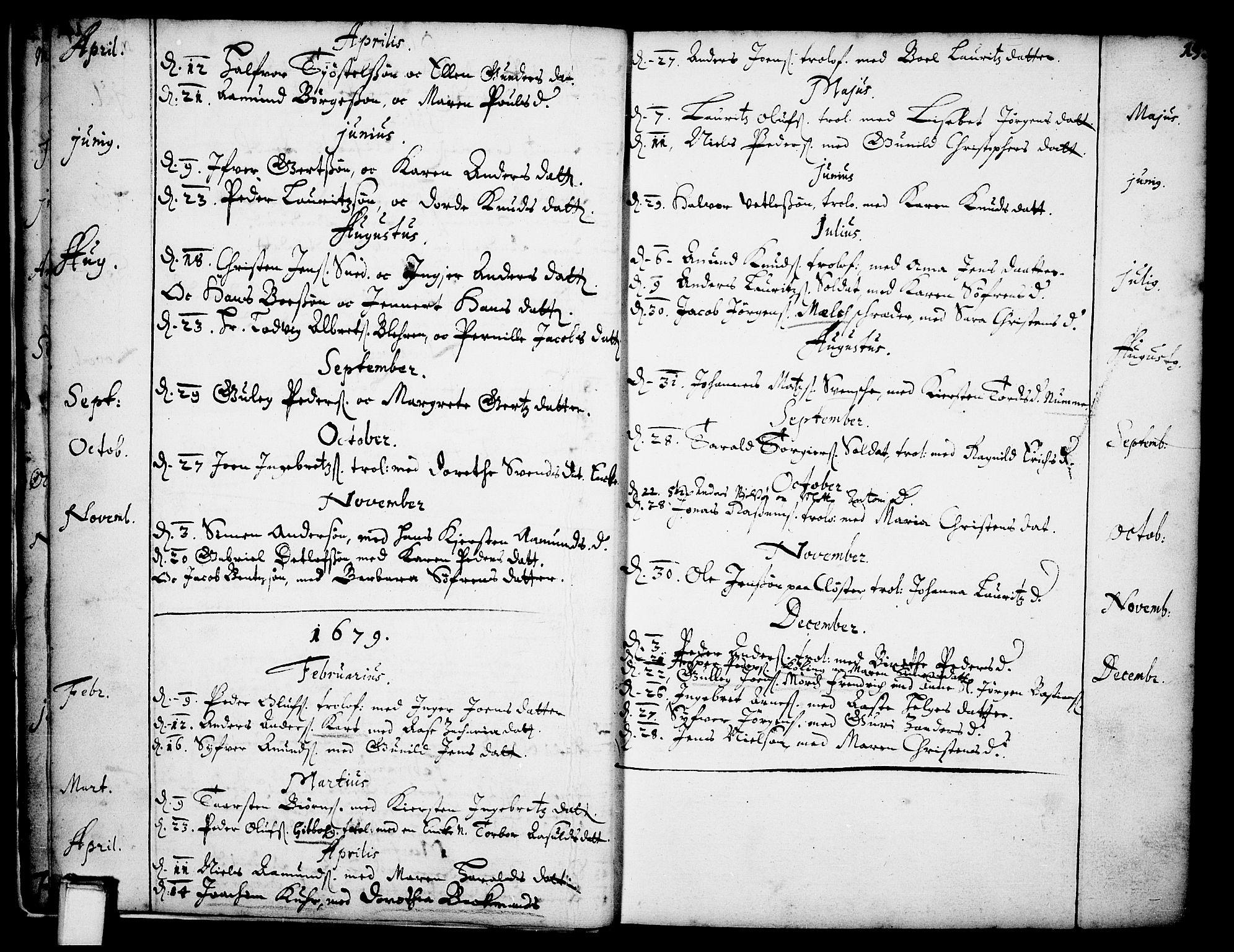SAKO, Skien kirkebøker, F/Fa/L0001: Ministerialbok nr. 1, 1659-1679, s. 15