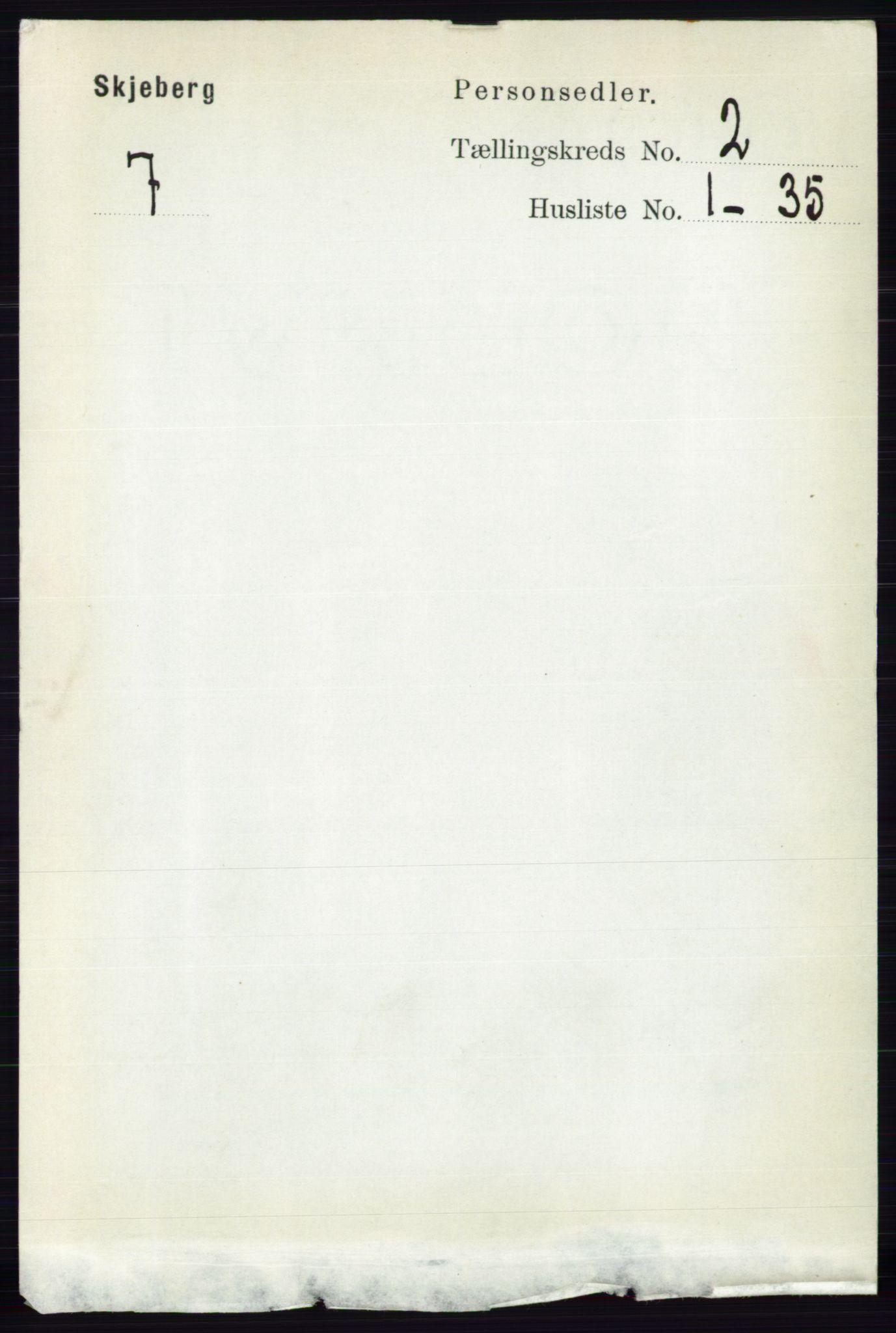 RA, Folketelling 1891 for 0115 Skjeberg herred, 1891, s. 908