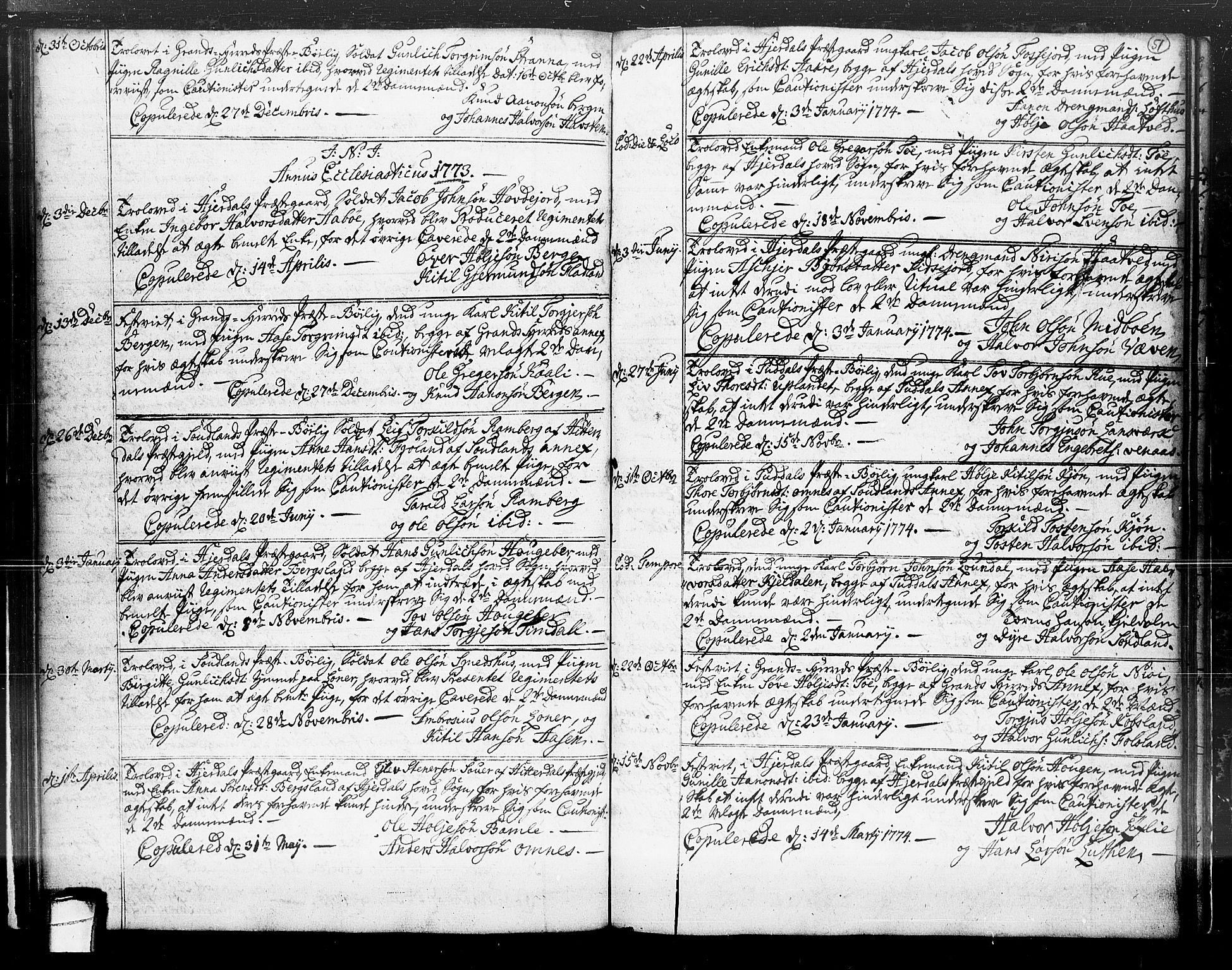 SAKO, Hjartdal kirkebøker, F/Fa/L0004: Ministerialbok nr. I 4, 1727-1795, s. 51