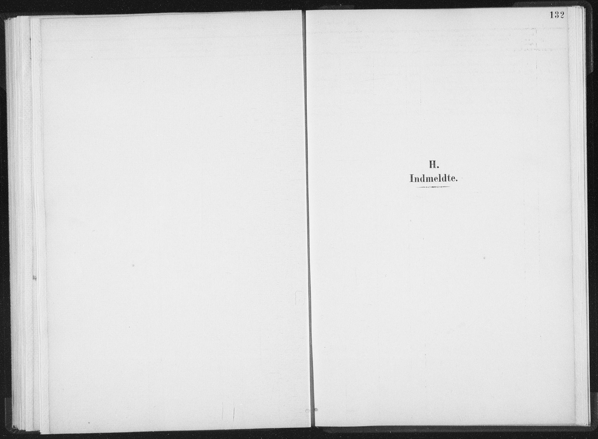 SAT, Ministerialprotokoller, klokkerbøker og fødselsregistre - Nord-Trøndelag, 724/L0263: Ministerialbok nr. 724A01, 1891-1907, s. 132