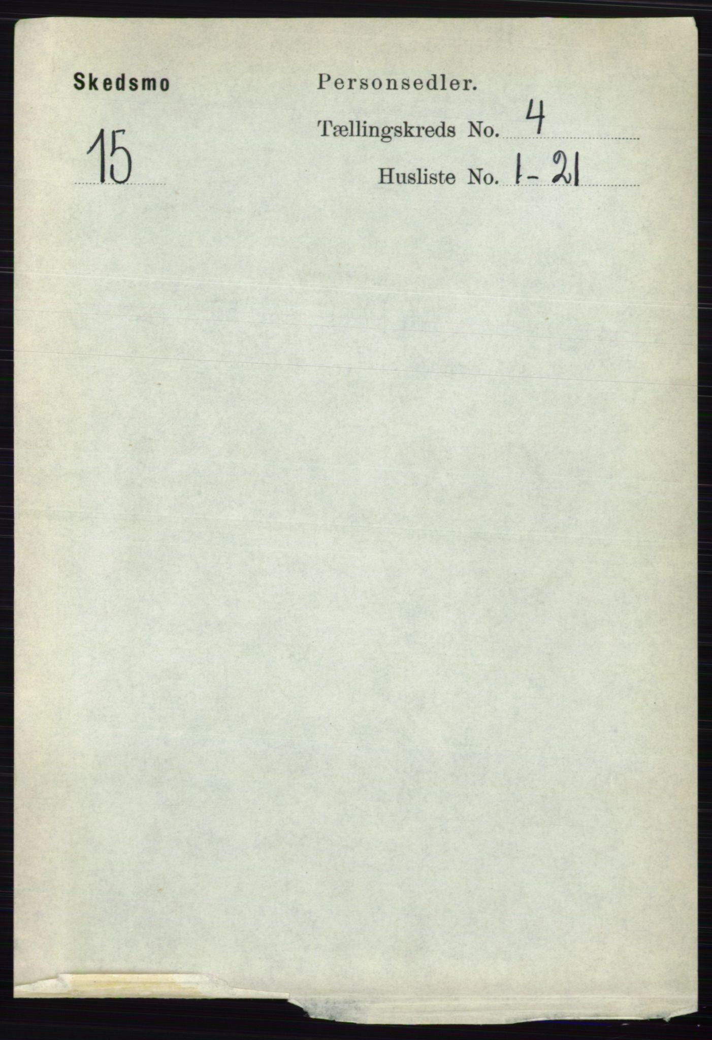RA, Folketelling 1891 for 0231 Skedsmo herred, 1891, s. 1824