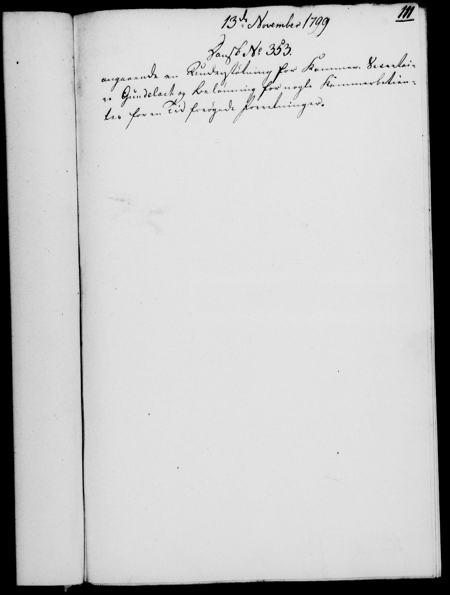 RA, Rentekammeret, Kammerkanselliet, G/Gf/Gfa/L0081: Norsk relasjons- og resolusjonsprotokoll (merket RK 52.81), 1799, s. 736