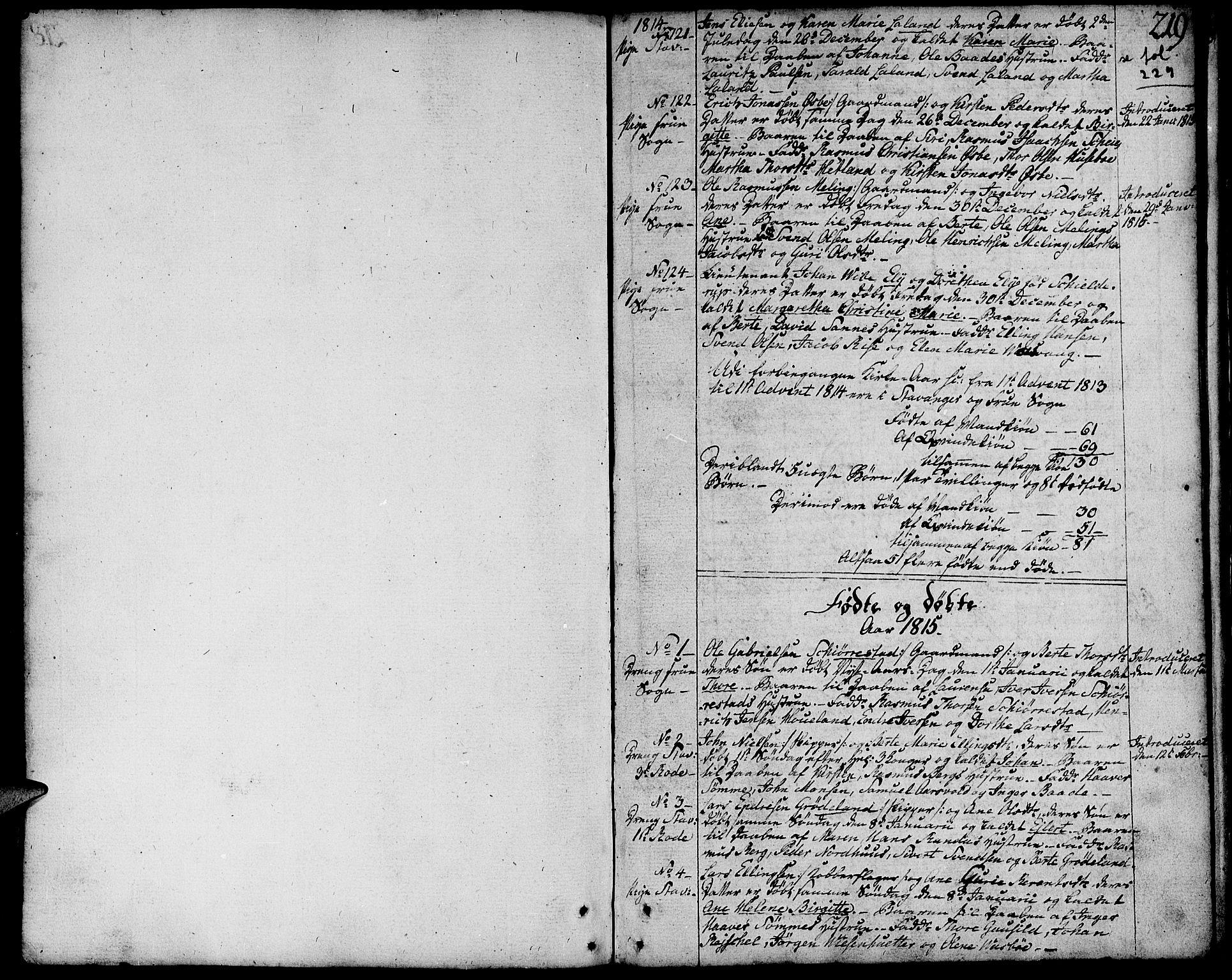 SAST, Domkirken sokneprestkontor, 30/30BA/L0006: Ministerialbok nr. A 6, 1783-1815, s. 219