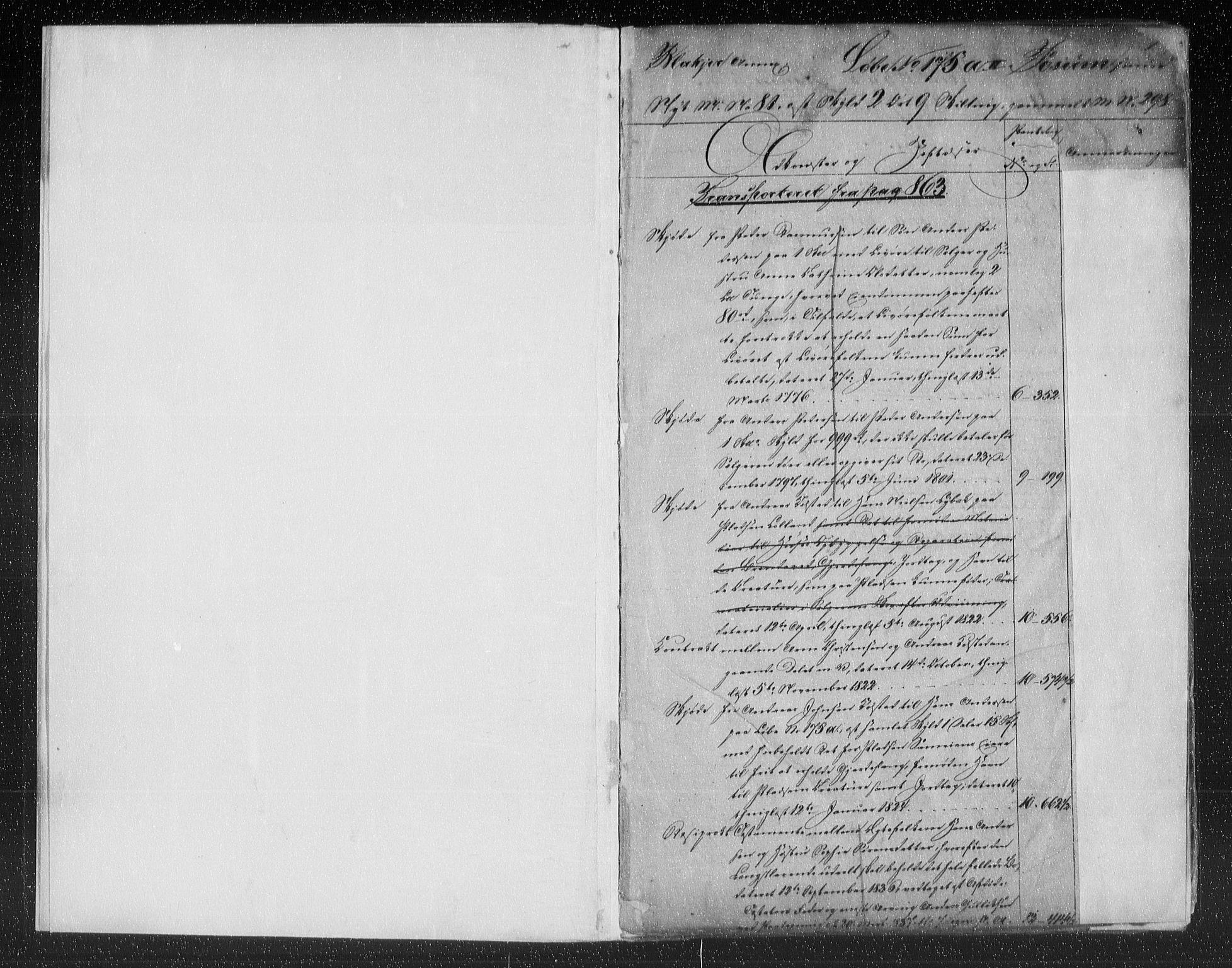 SAO, Nes tingrett, G/Ga/Gab/Gaba/L0013.a: Panteregister nr. I 13a, s. 1