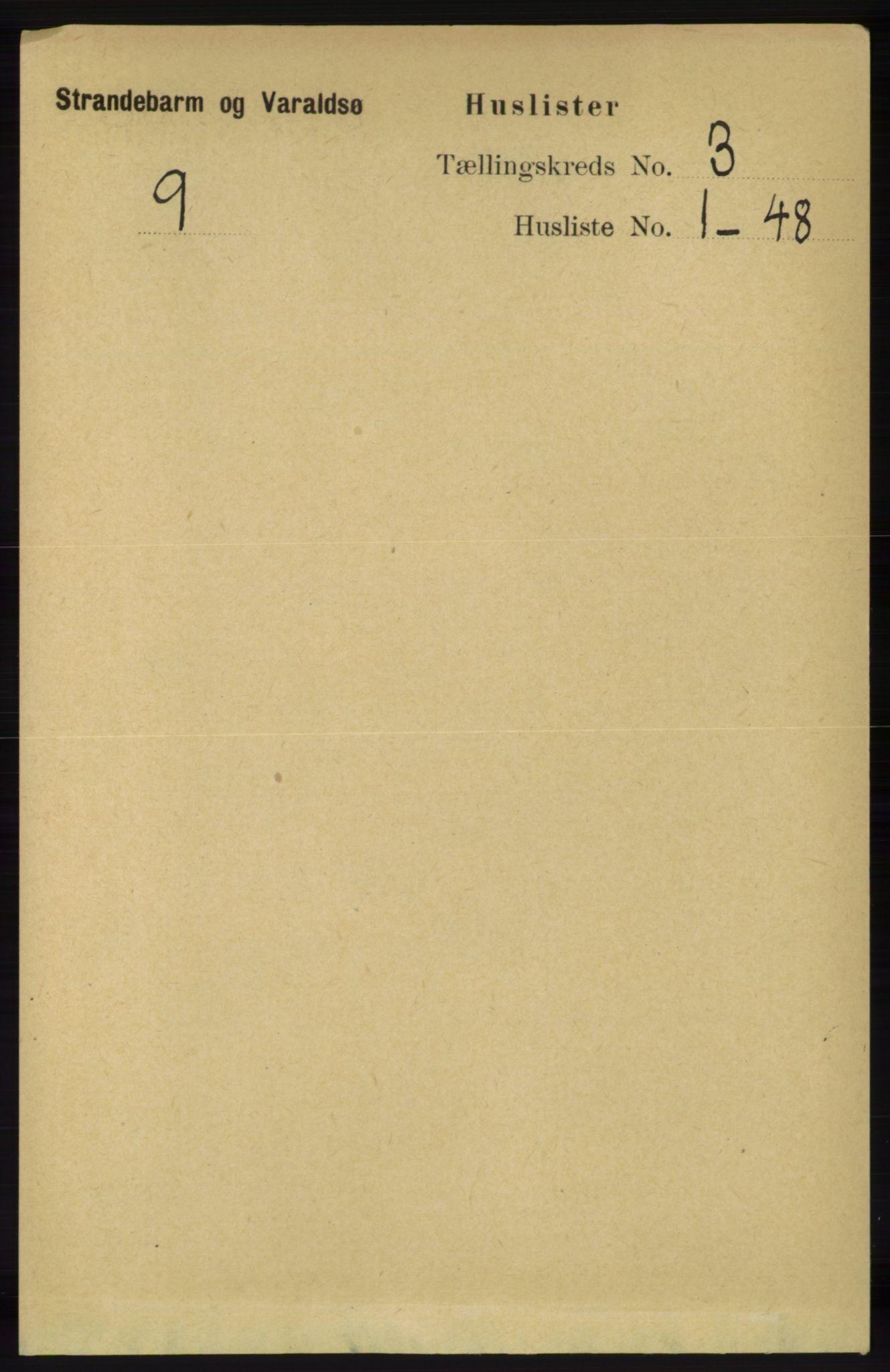 RA, Folketelling 1891 for 1226 Strandebarm og Varaldsøy herred, 1891, s. 1035