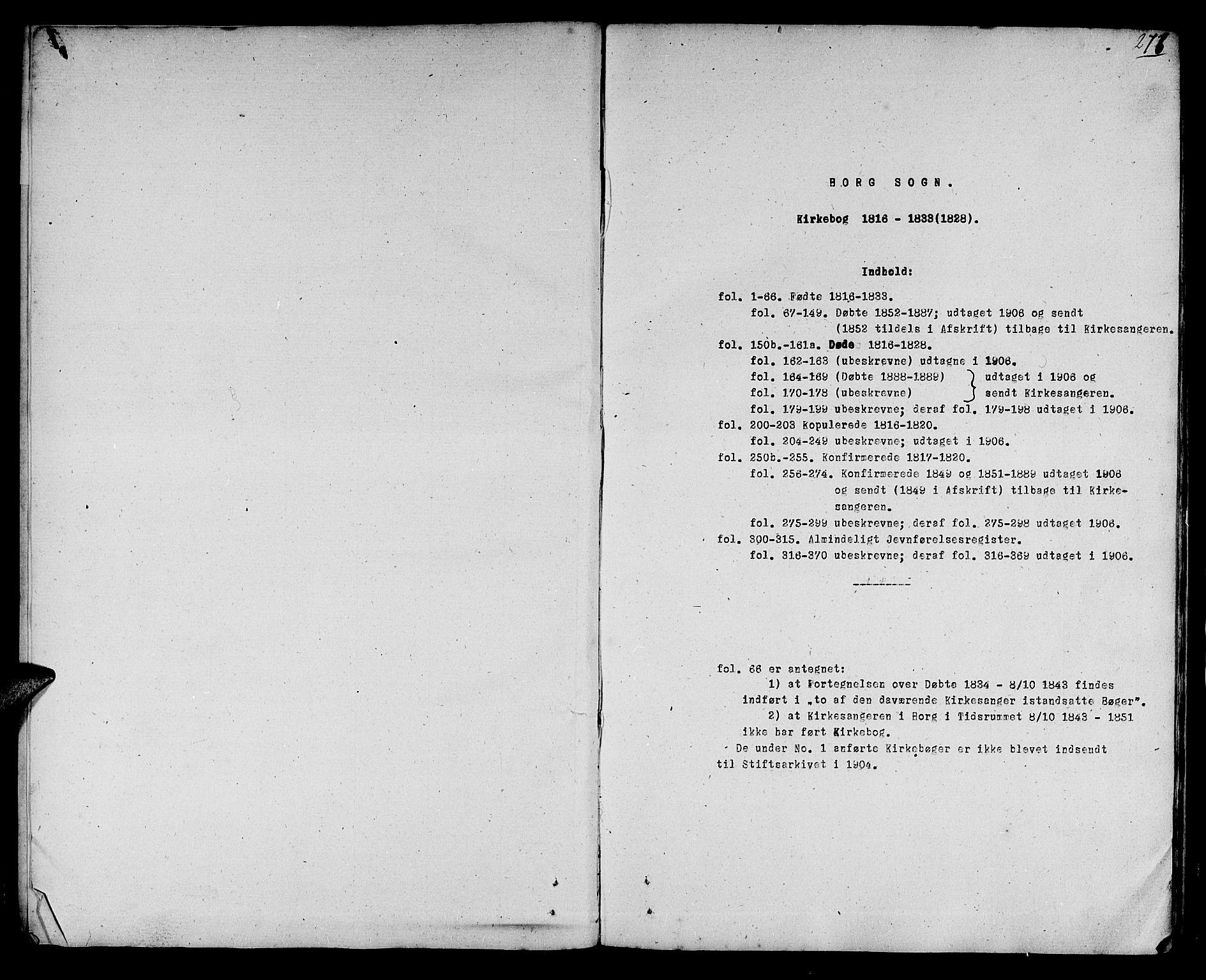SAT, Ministerialprotokoller, klokkerbøker og fødselsregistre - Sør-Trøndelag, 692/L1108: Klokkerbok nr. 692C03, 1816-1833, s. 276