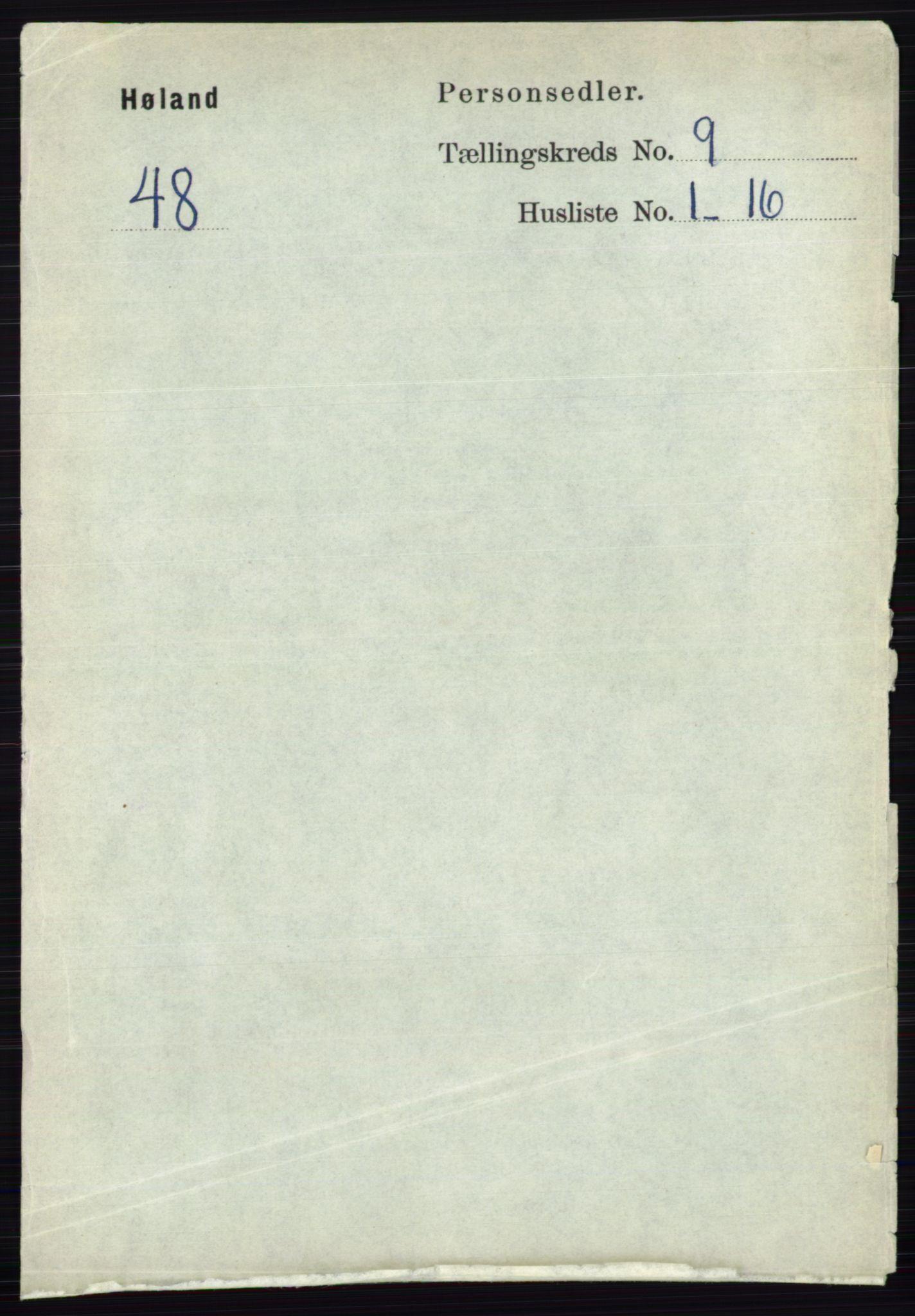 RA, Folketelling 1891 for 0221 Høland herred, 1891, s. 6147