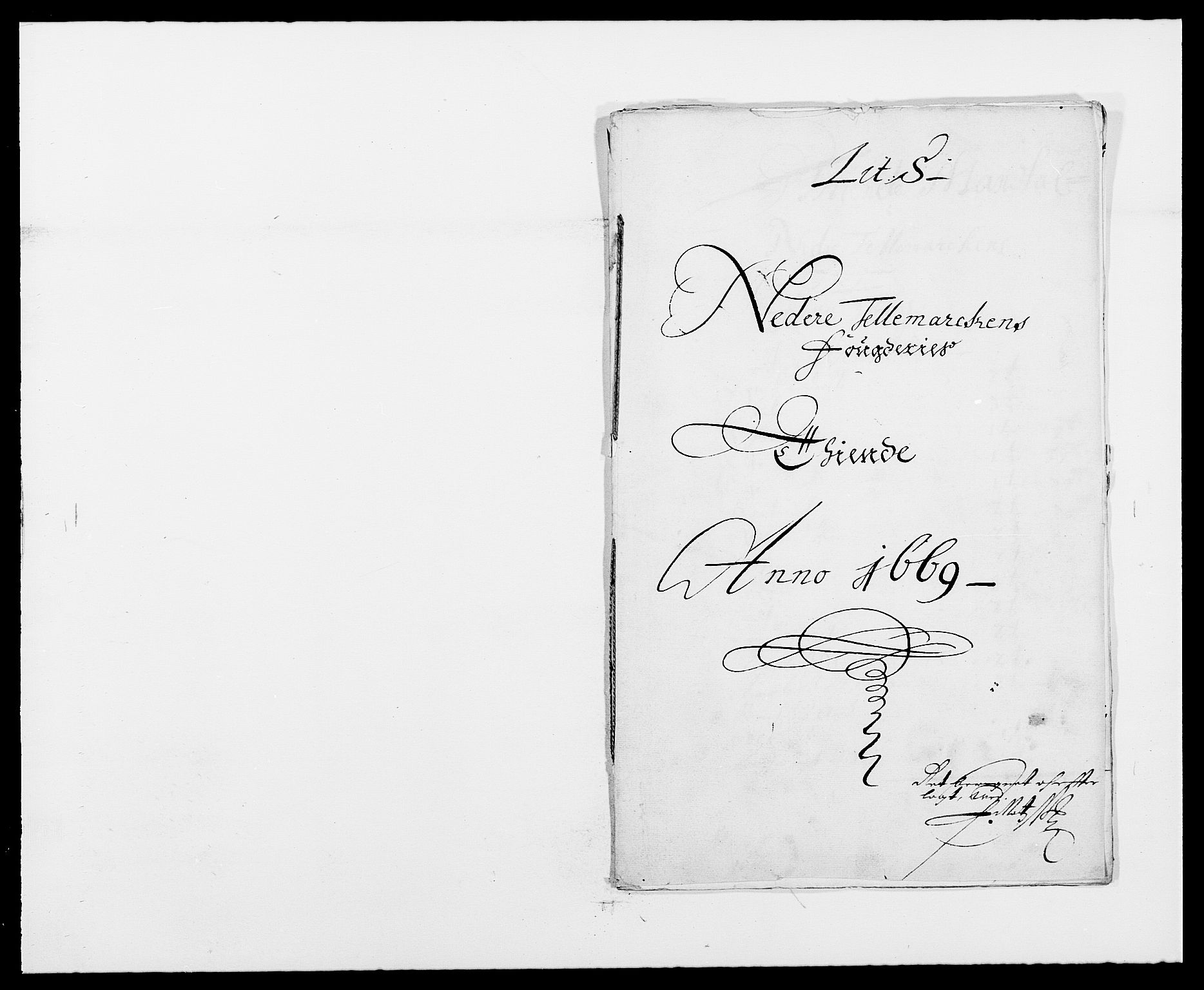 RA, Rentekammeret inntil 1814, Reviderte regnskaper, Fogderegnskap, R35/L2058: Fogderegnskap Øvre og Nedre Telemark, 1668-1670, s. 364