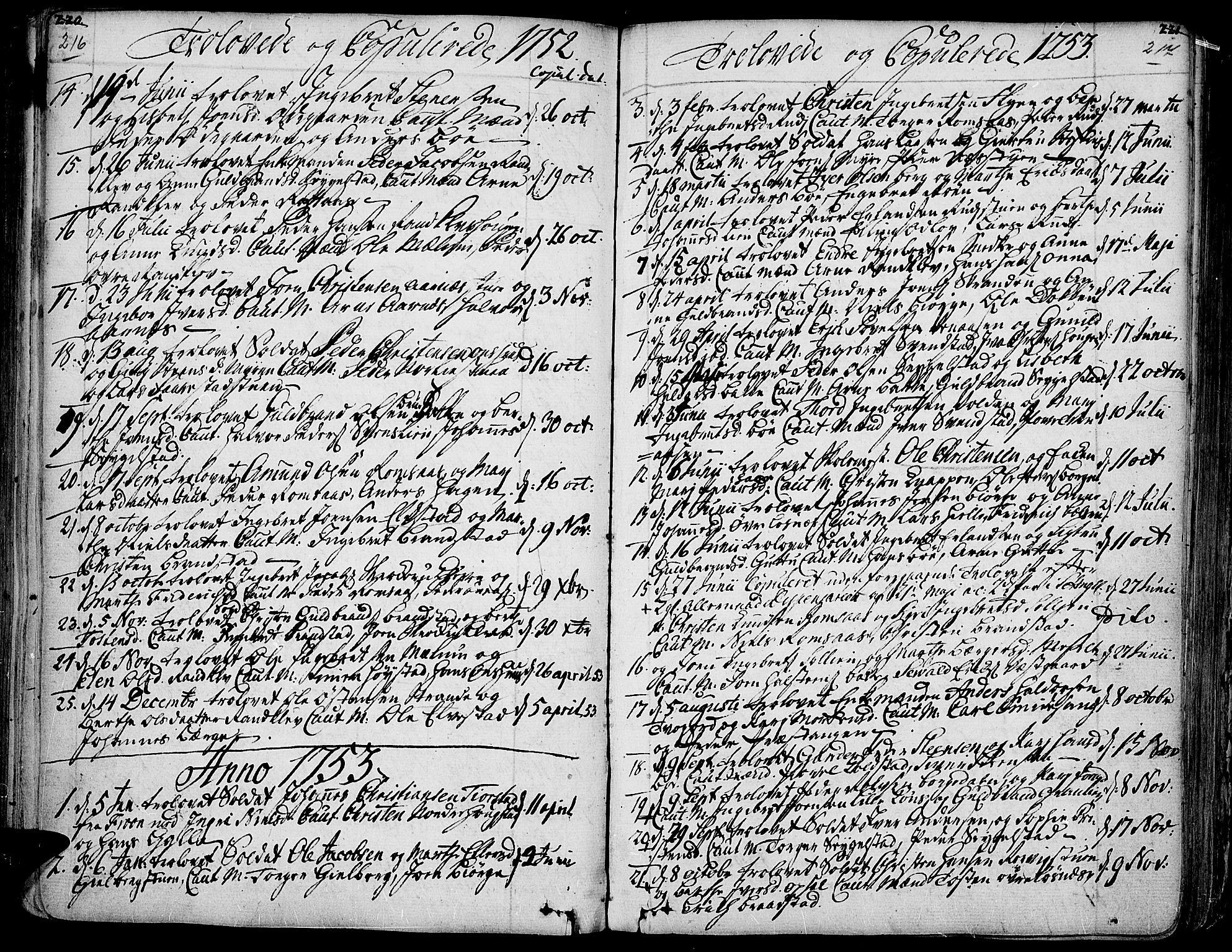 SAH, Ringebu prestekontor, Ministerialbok nr. 2, 1734-1780, s. 216-217